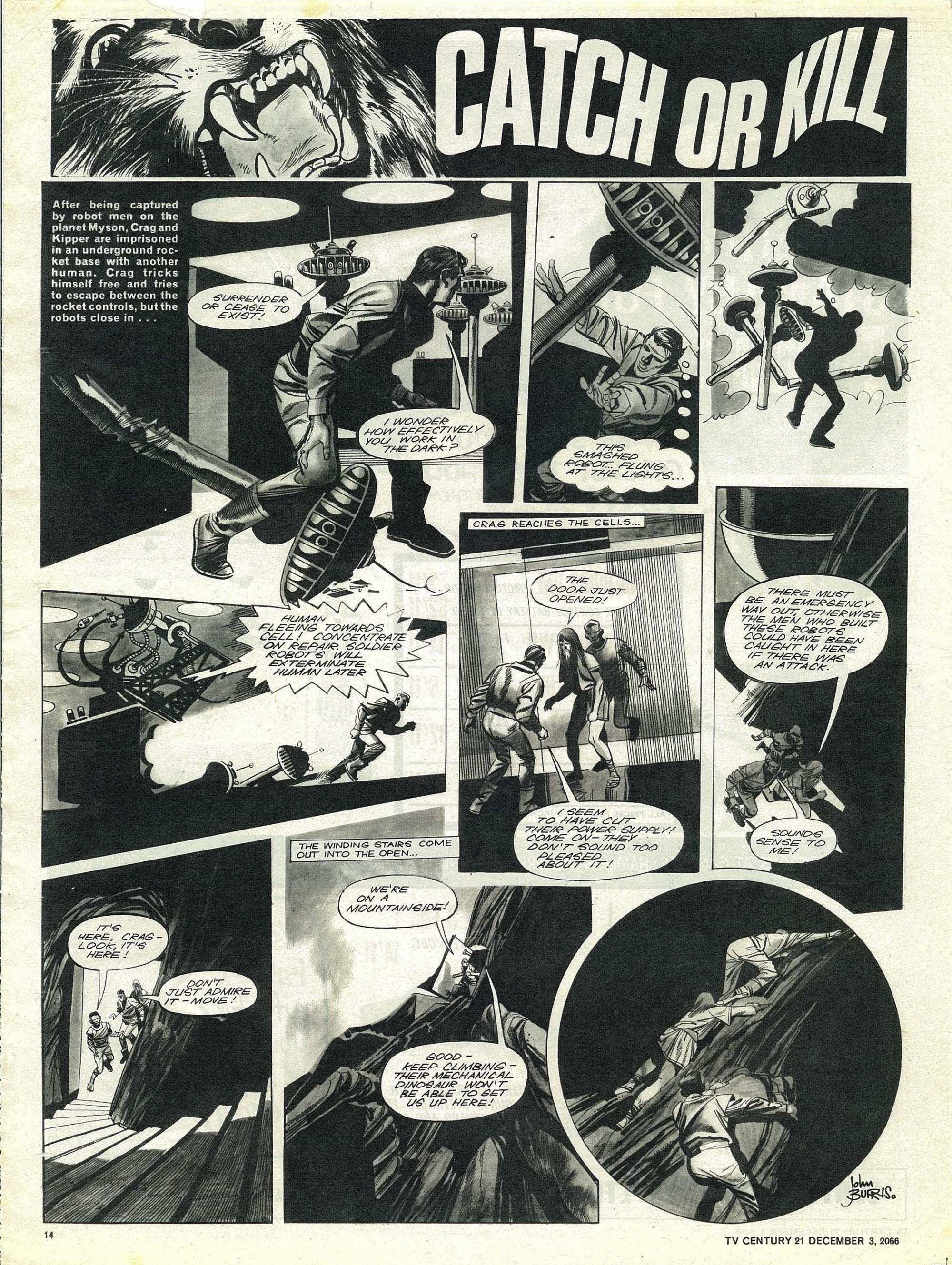 Read online TV Century 21 (TV 21) comic -  Issue #98 - 13