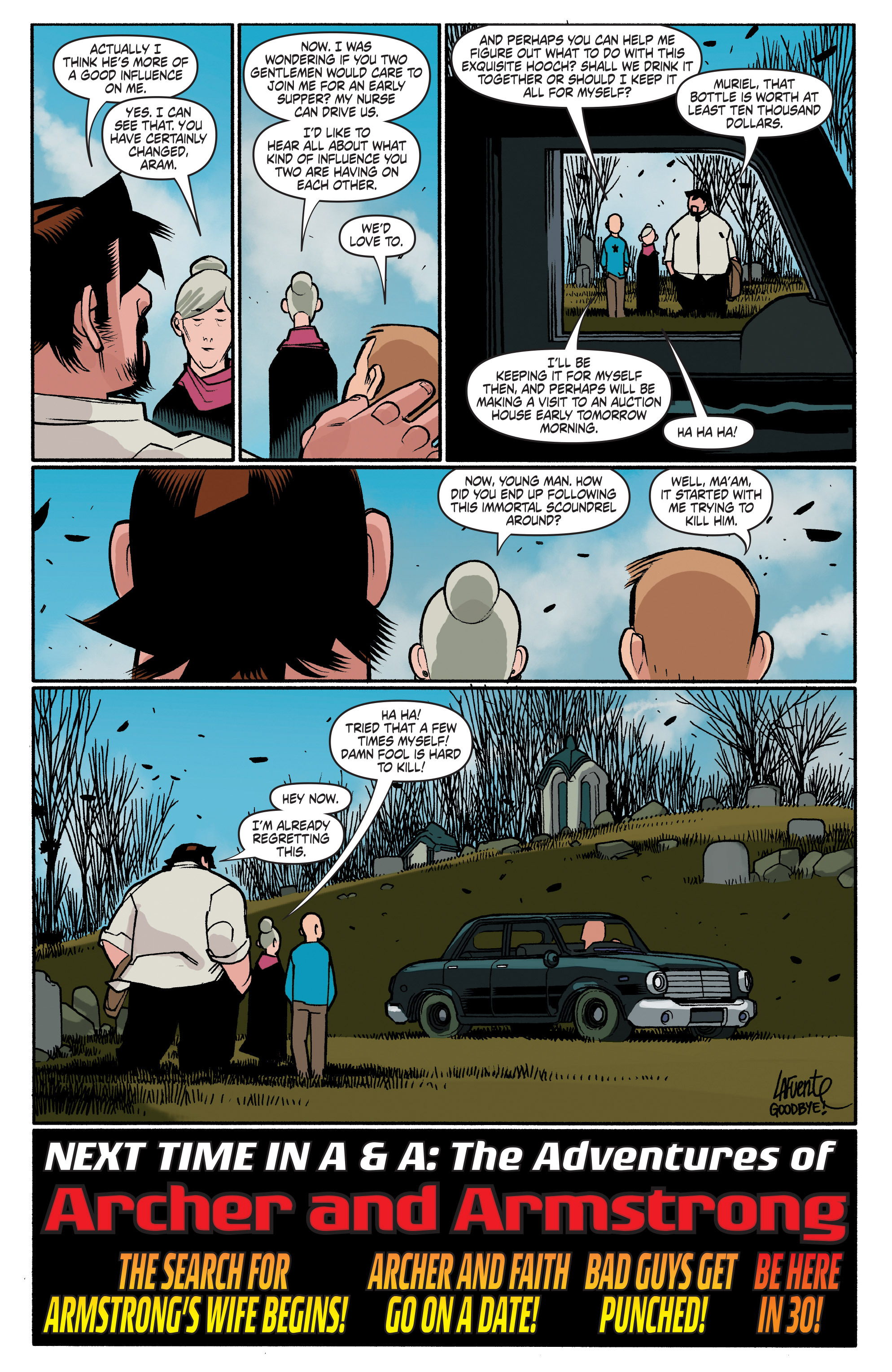 Read online A&A: The Adventures of Archer & Armstrong comic -  Issue #4 - 24