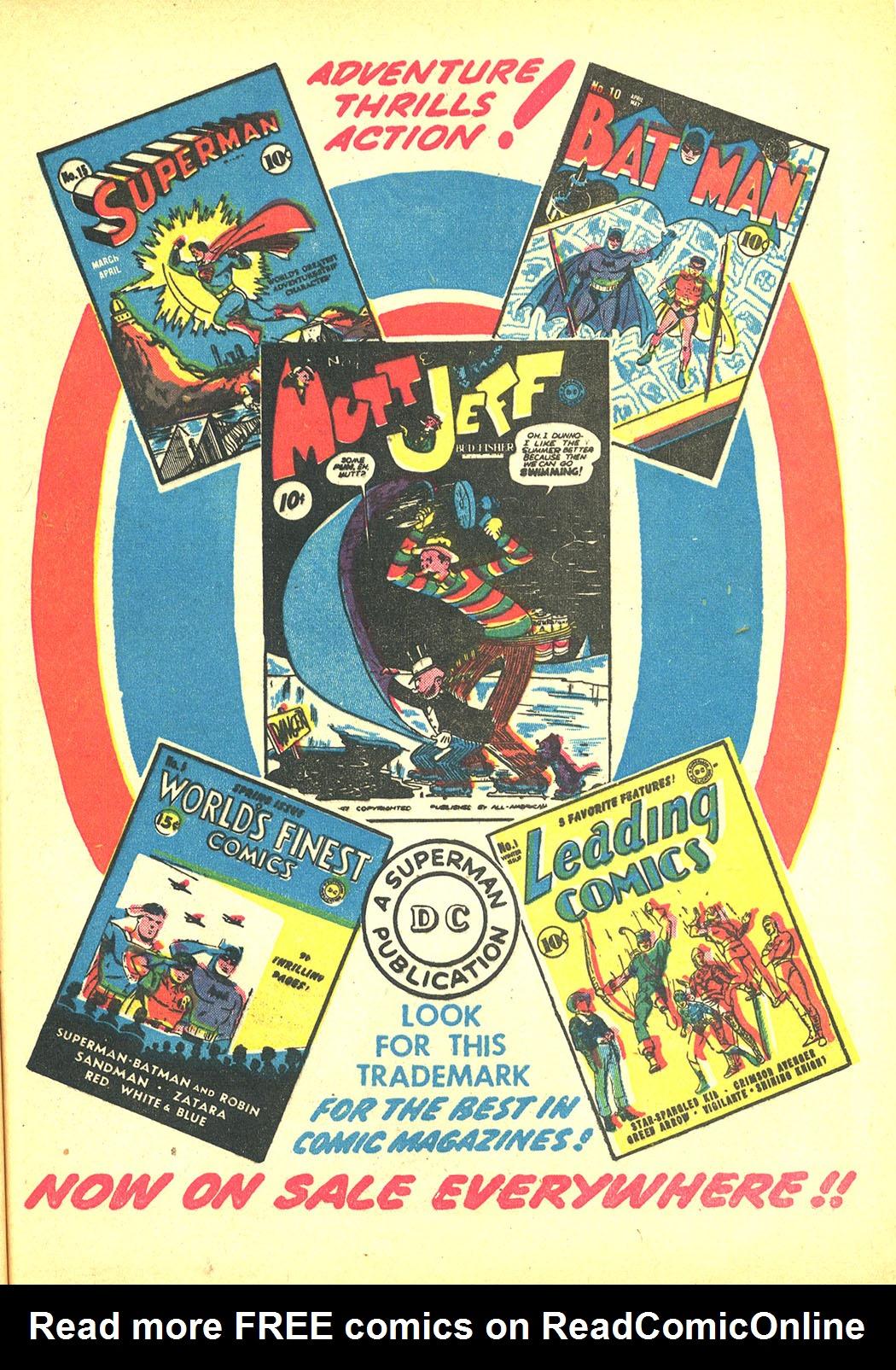 Read online Sensation (Mystery) Comics comic -  Issue #4 - 55