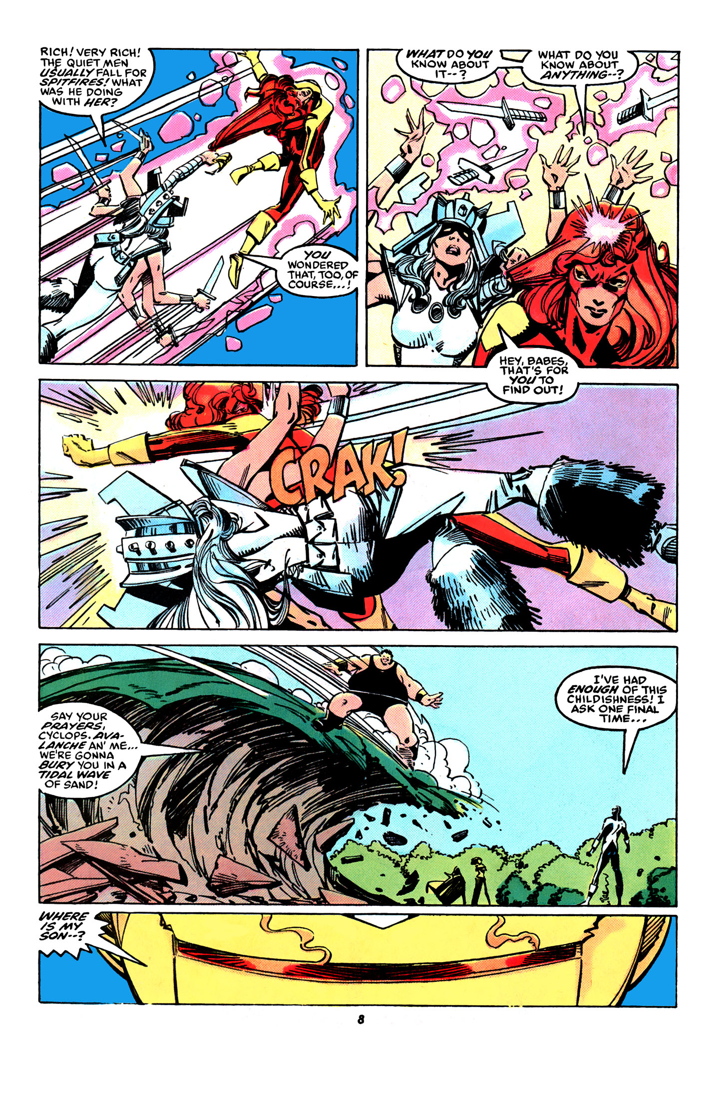 Read online X-Factor (1986) comic -  Issue #31 - 7