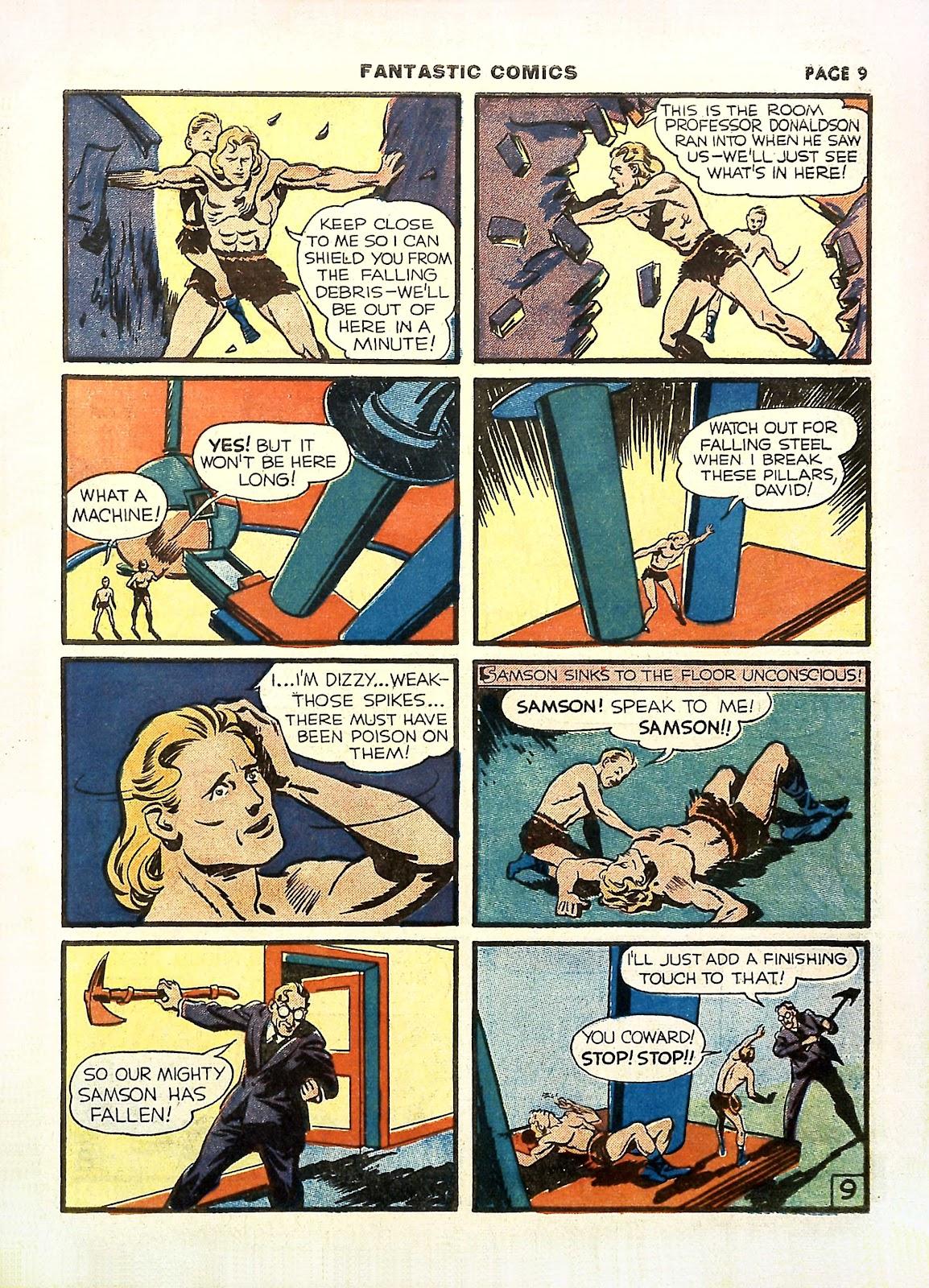 Read online Fantastic Comics comic -  Issue #11 - 12