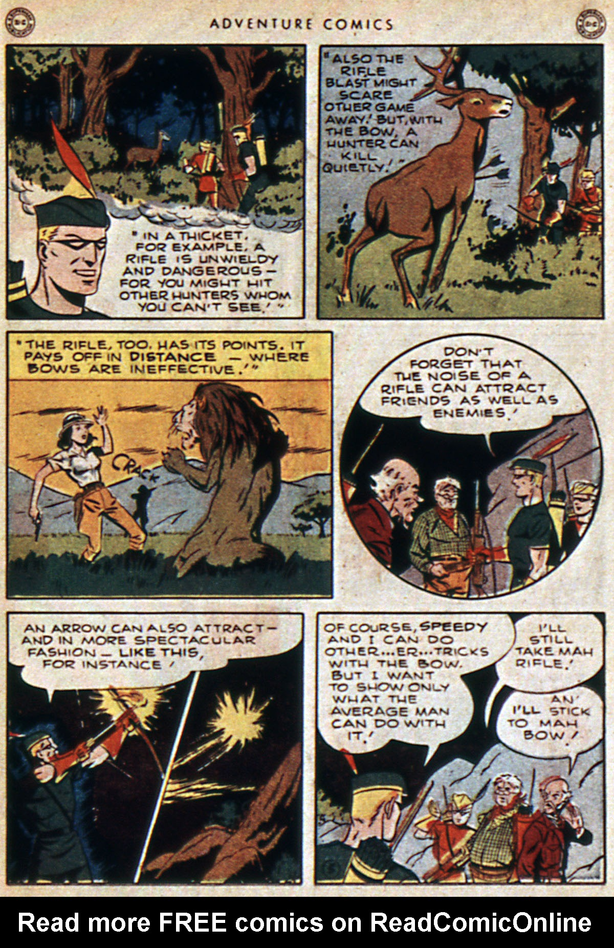 Read online Adventure Comics (1938) comic -  Issue #112 - 15