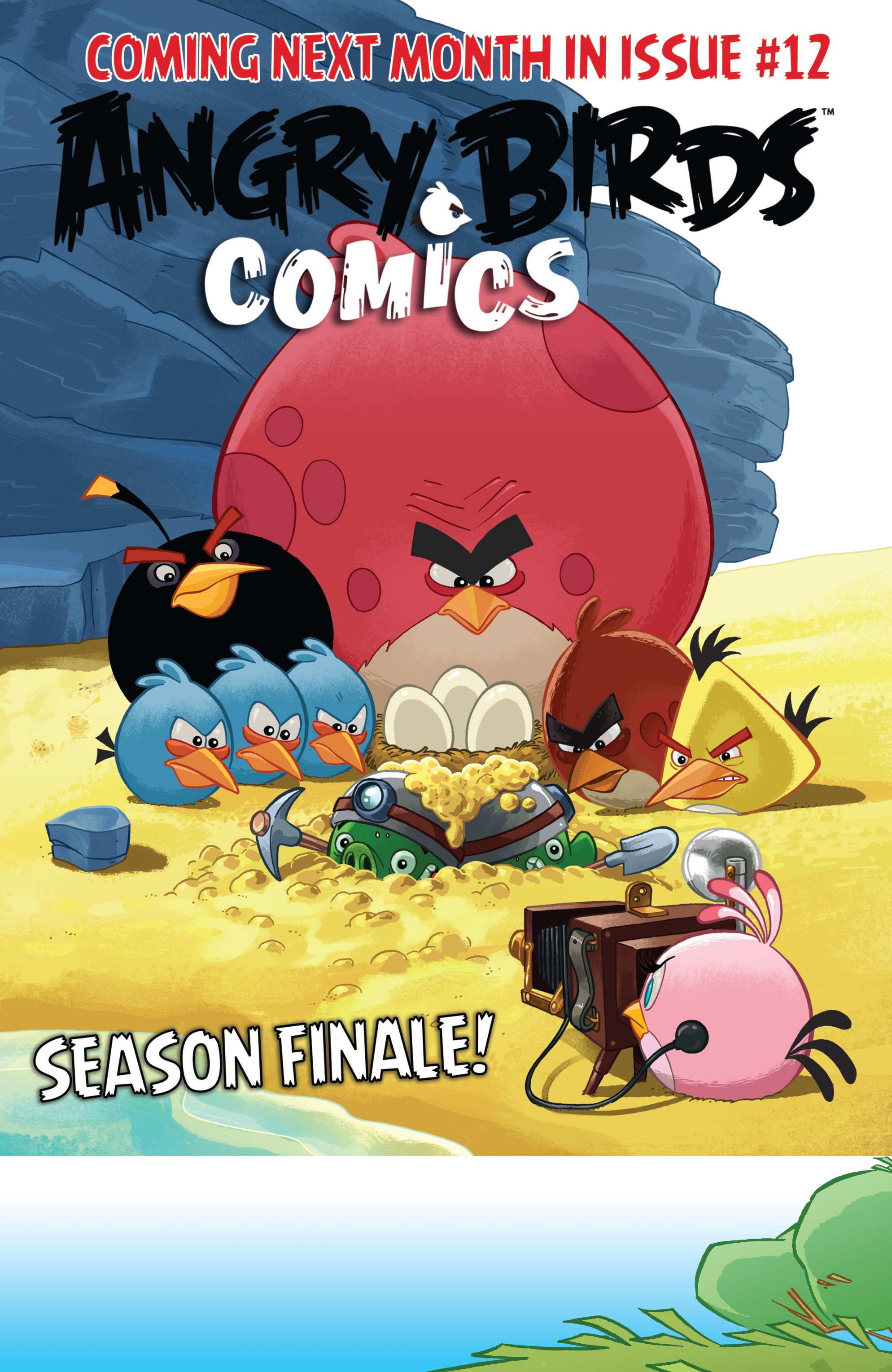 Read online Angry Birds Comics (2014) comic -  Issue #11 - 23