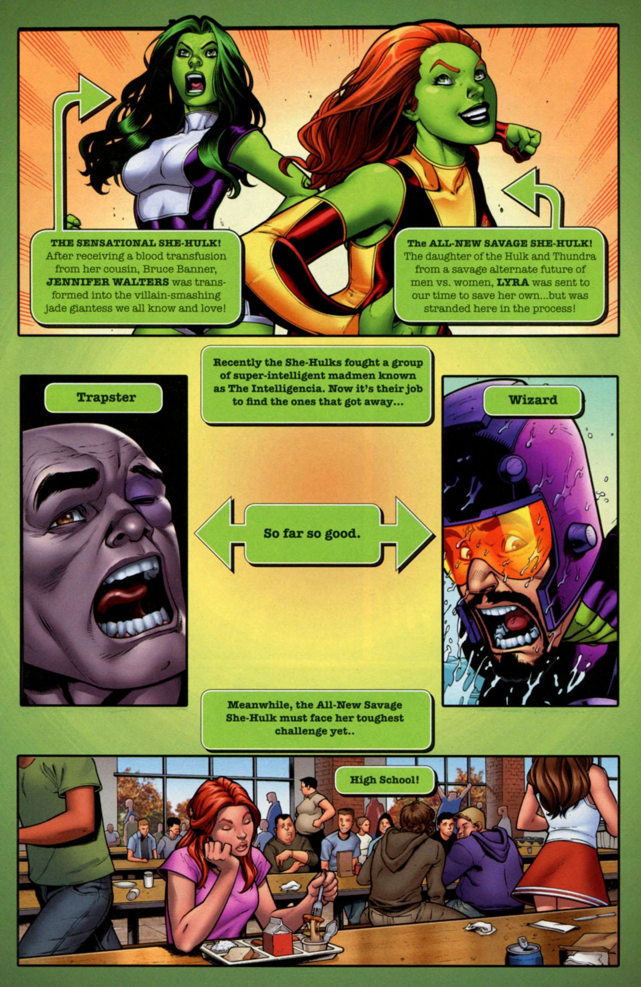 Read online She-Hulks comic -  Issue #2 - 2