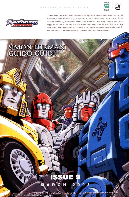 Read online Transformers Armada comic -  Issue #8 - 24