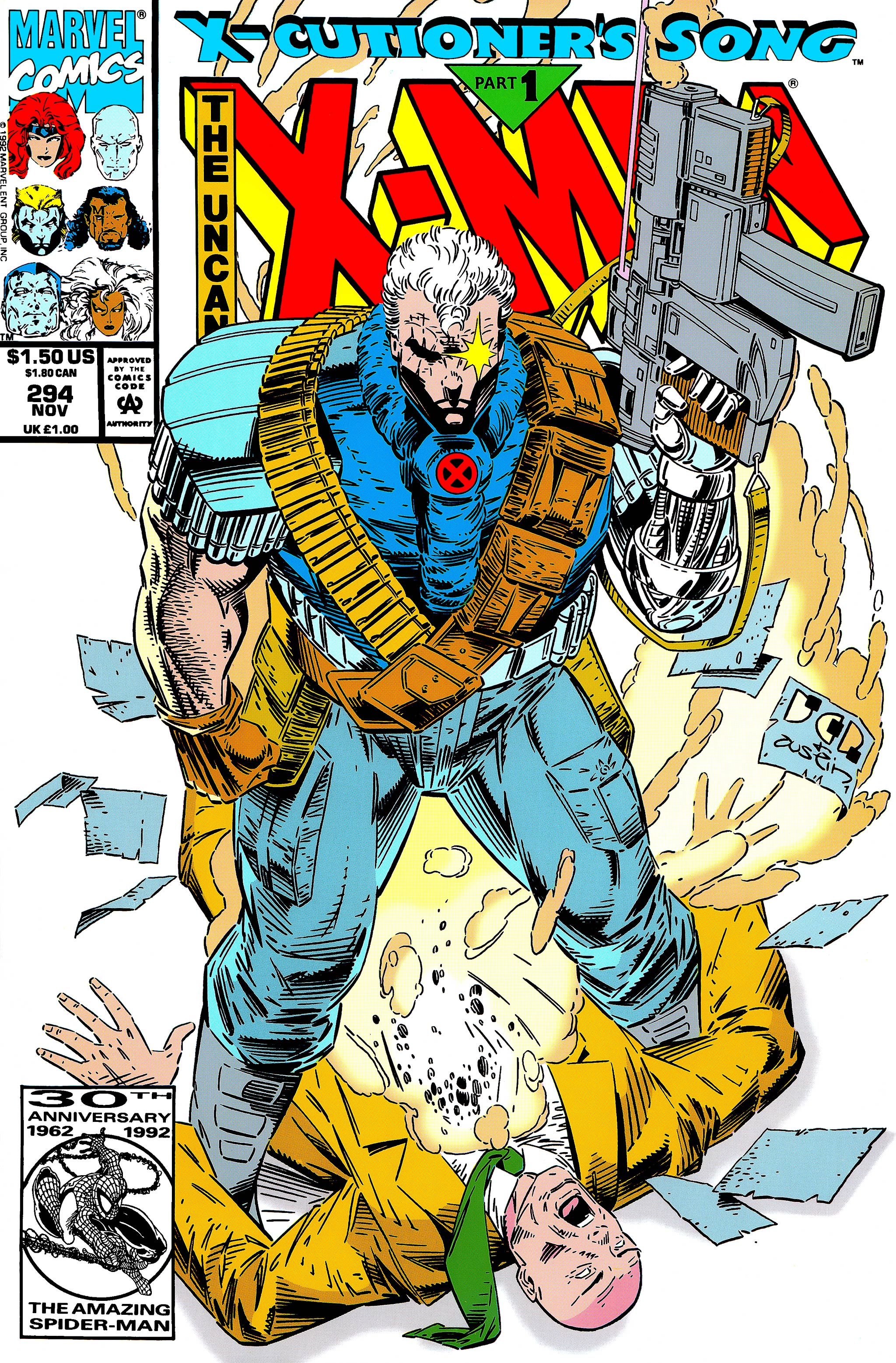 Read online Uncanny X-Men (1963) comic -  Issue #294 - 1