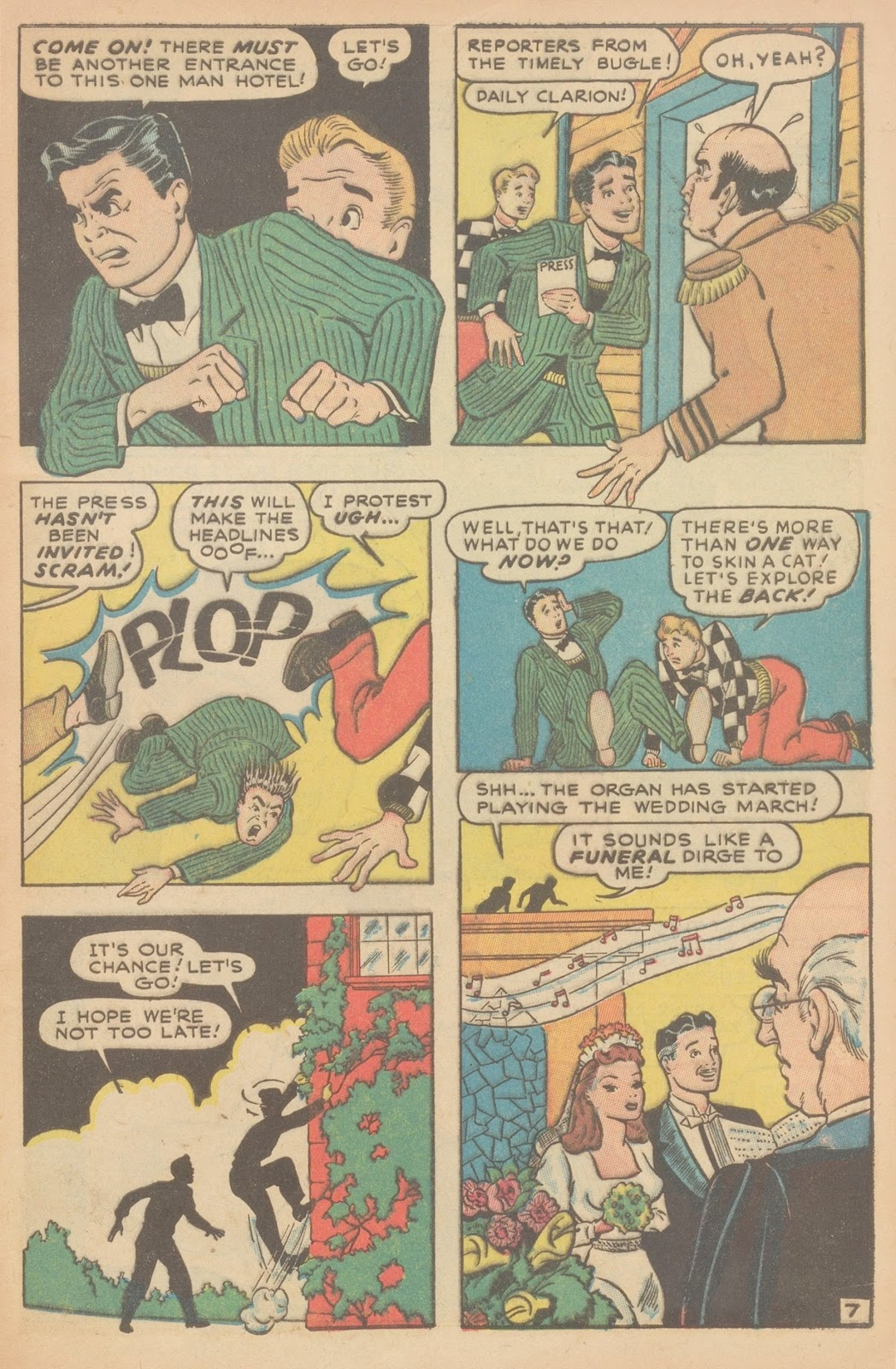 Read online Nellie The Nurse (1945) comic -  Issue #11 - 9