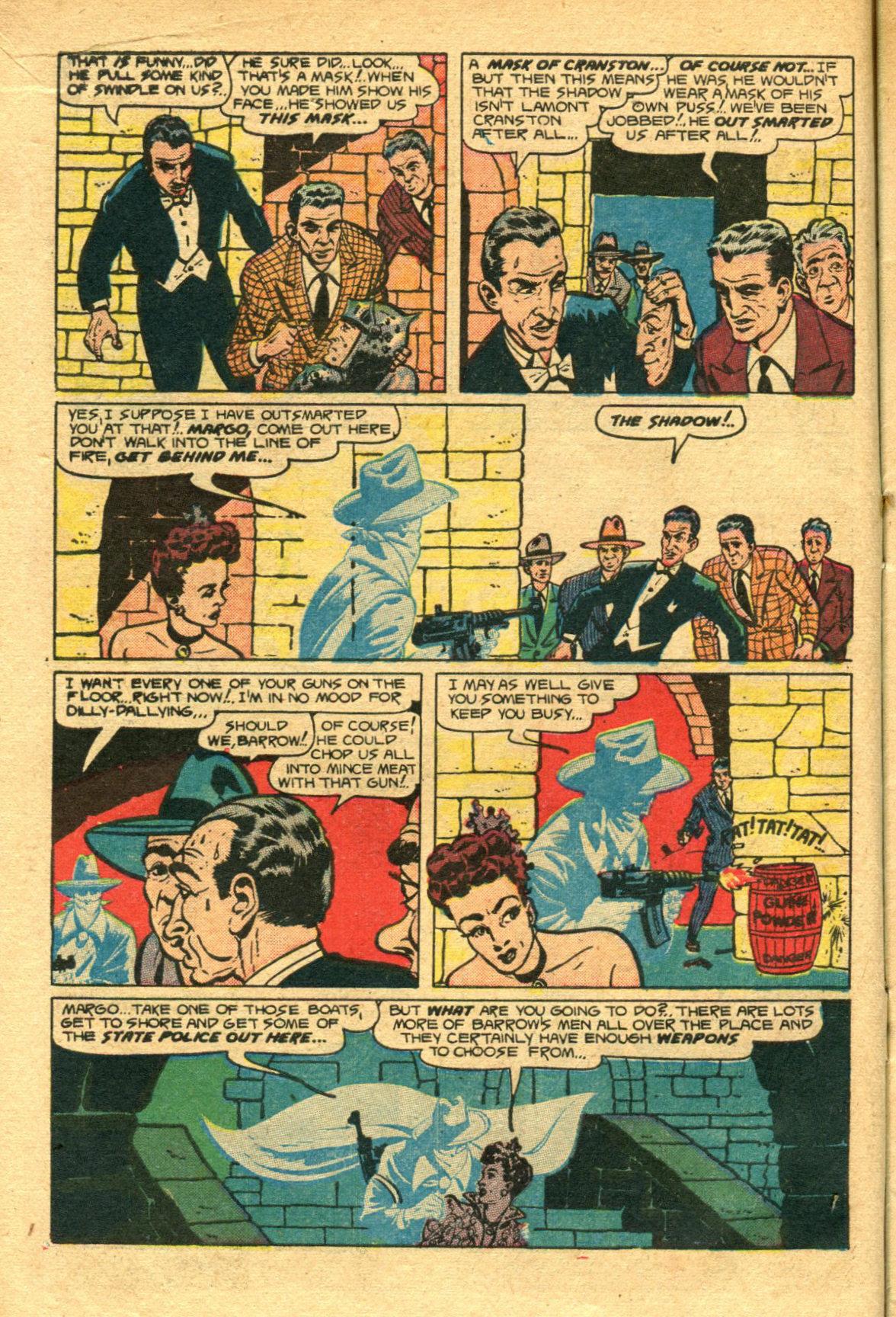 Read online Shadow Comics comic -  Issue #98 - 14