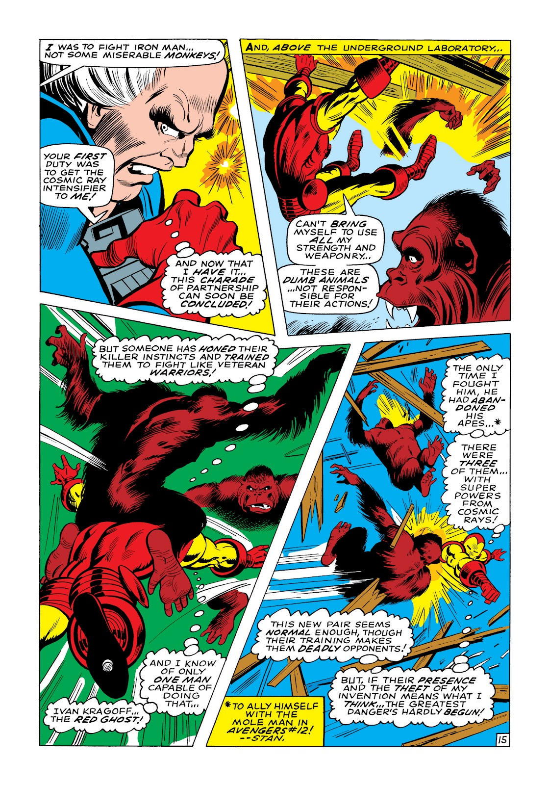 Read online Marvel Masterworks: The Invincible Iron Man comic -  Issue # TPB 6 (Part 1) - 42