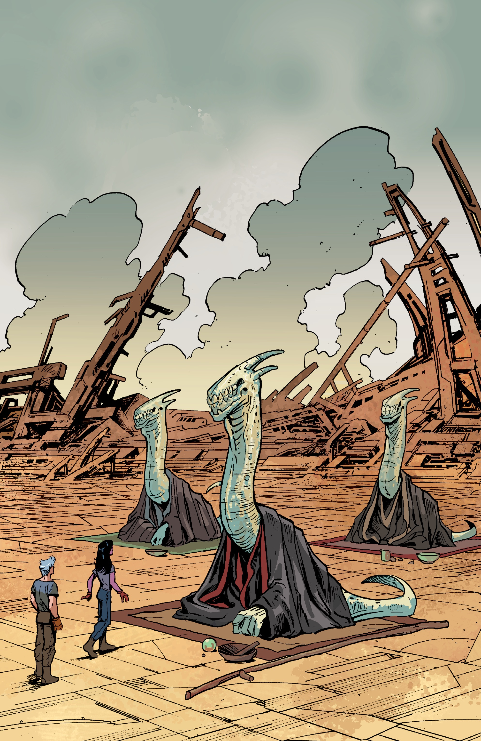 Read online Planetoid Praxis comic -  Issue #5 - 24