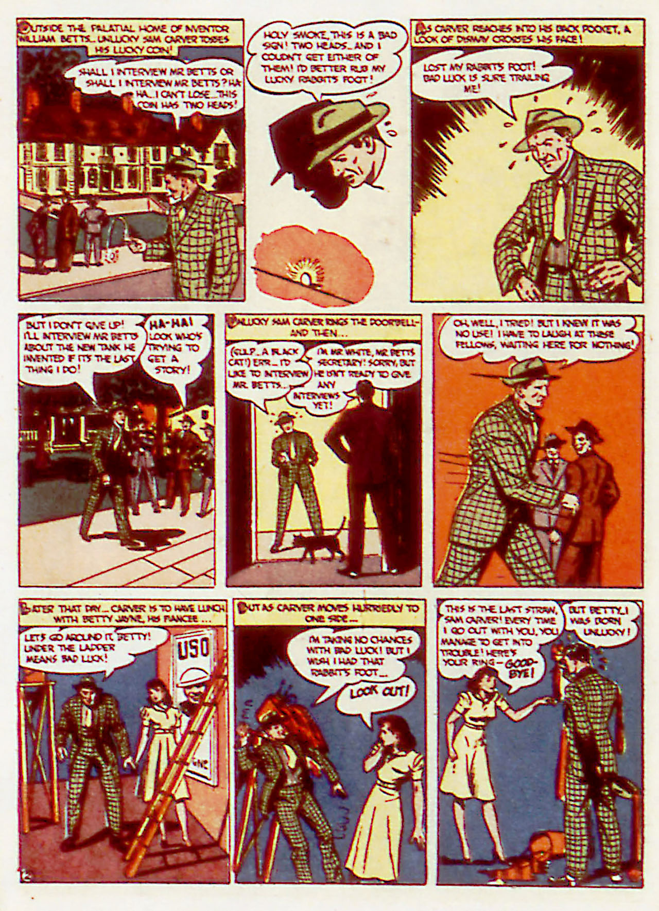 Read online Detective Comics (1937) comic -  Issue #71 - 32