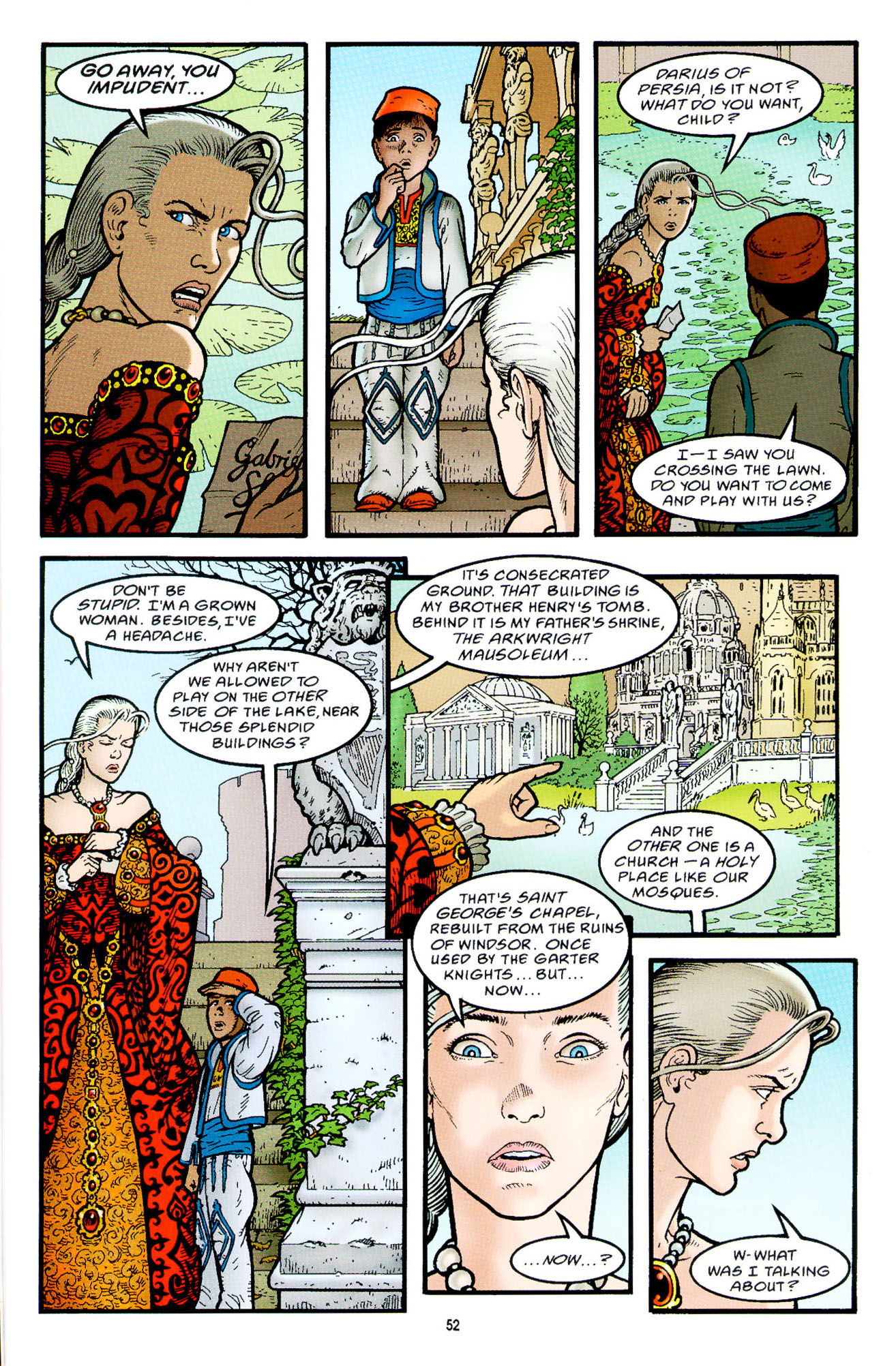 Read online Heart of Empire comic -  Issue #2 - 20