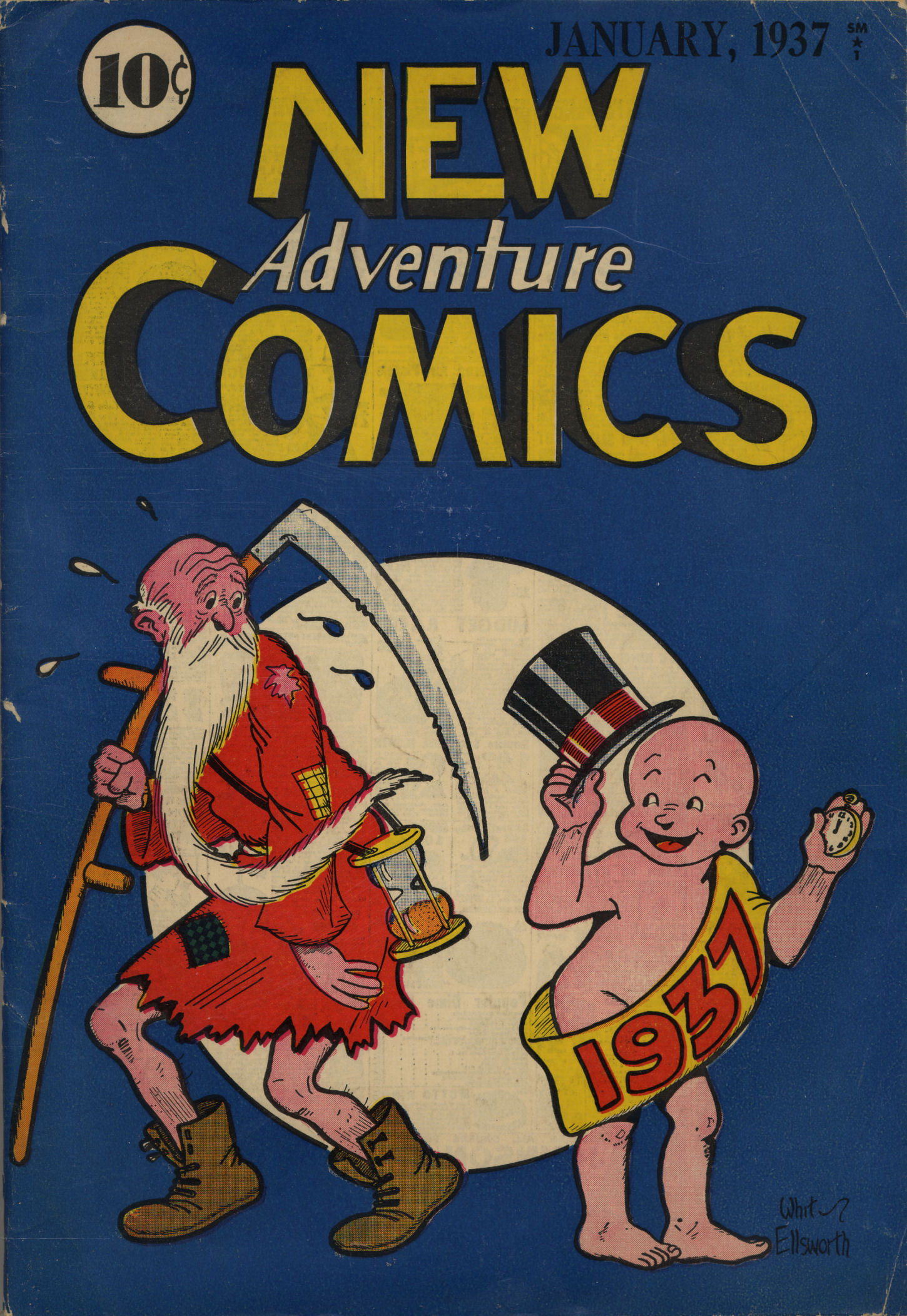Read online Adventure Comics (1938) comic -  Issue #12 - 1