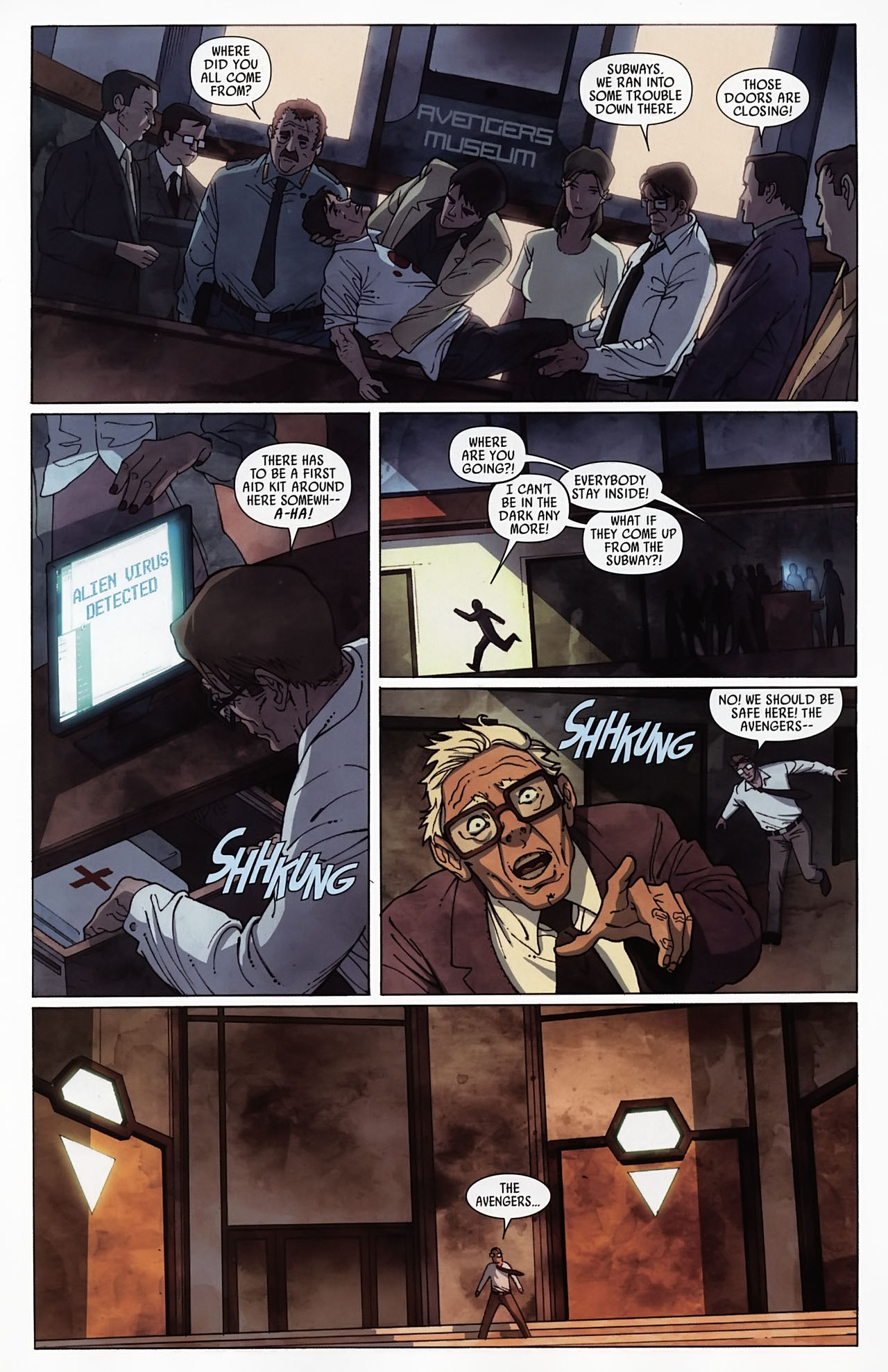 Read online Secret Invasion: Front Line comic -  Issue #4 - 15