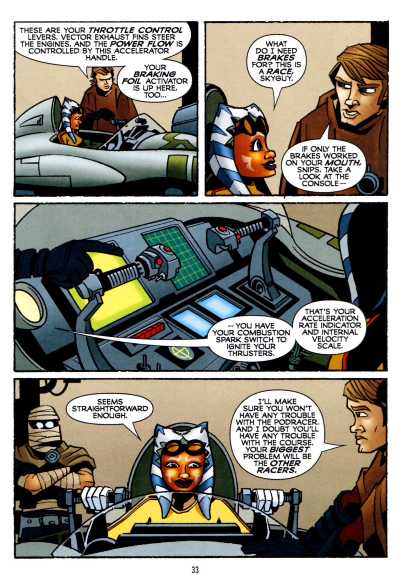 Read online Star Wars: The Clone Wars - Crash Course comic -  Issue # Full - 34