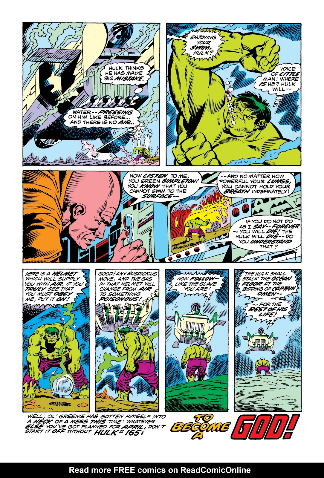 Read online Marvel Masterworks: The Incredible Hulk comic -  Issue # TPB 9 (Part 2) - 76