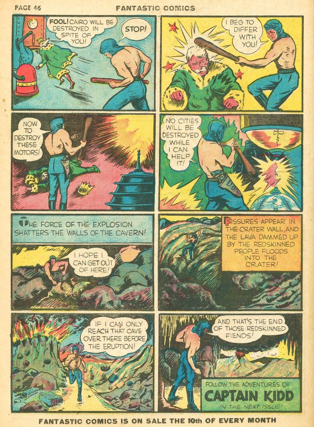 Read online Fantastic Comics comic -  Issue #12 - 48