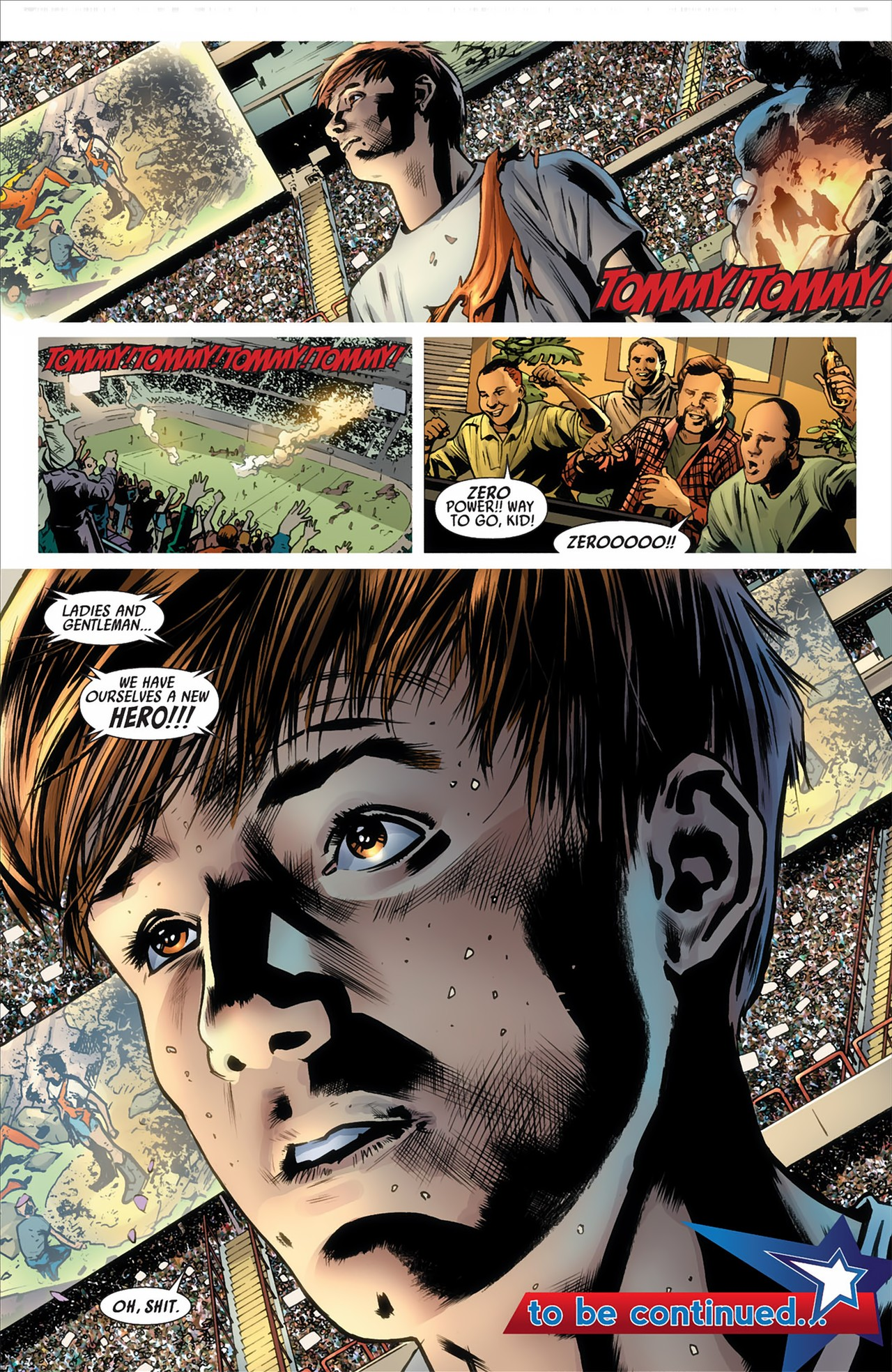 Read online America's Got Powers comic -  Issue #2 - 33