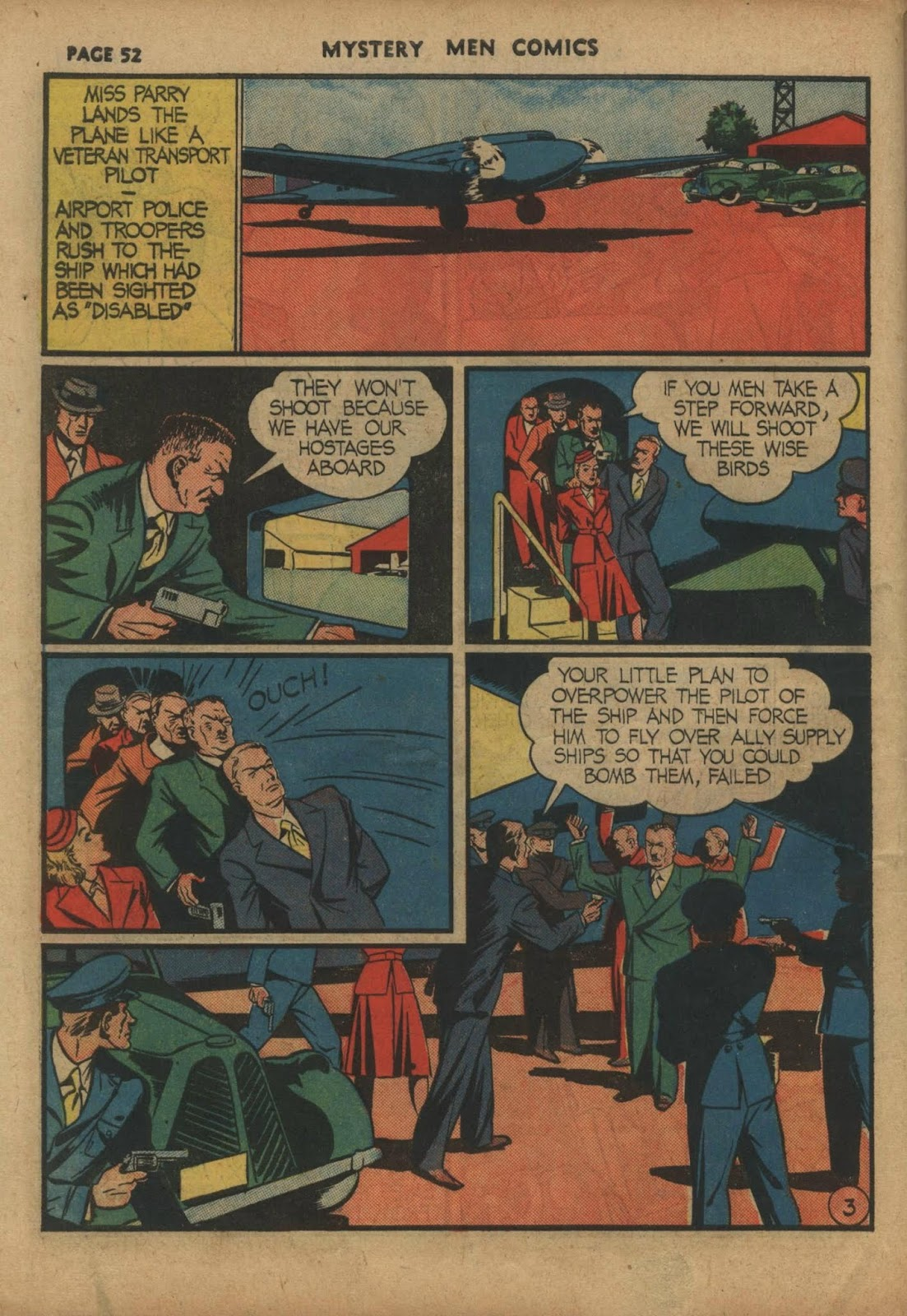 Mystery Men Comics issue 10 - Page 54