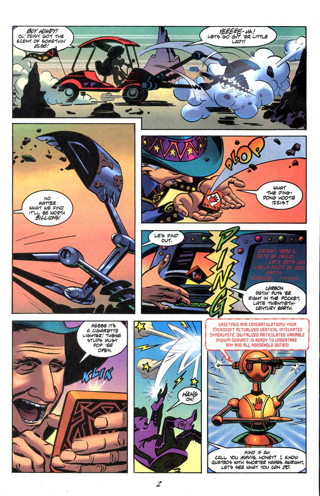Read online Nexus Meets Madman comic -  Issue # Full - 4