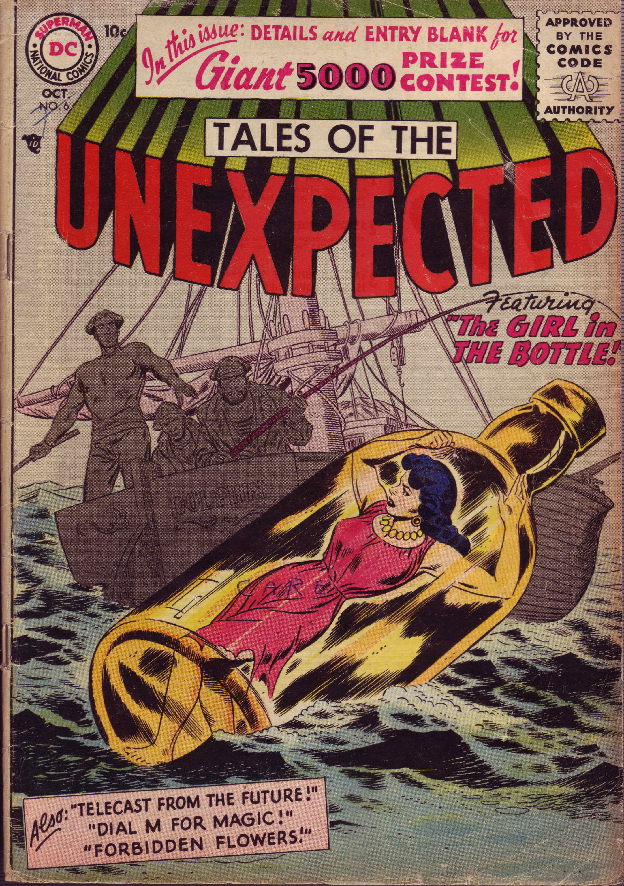 Tales of the Unexpected (1956) 6 Page 1