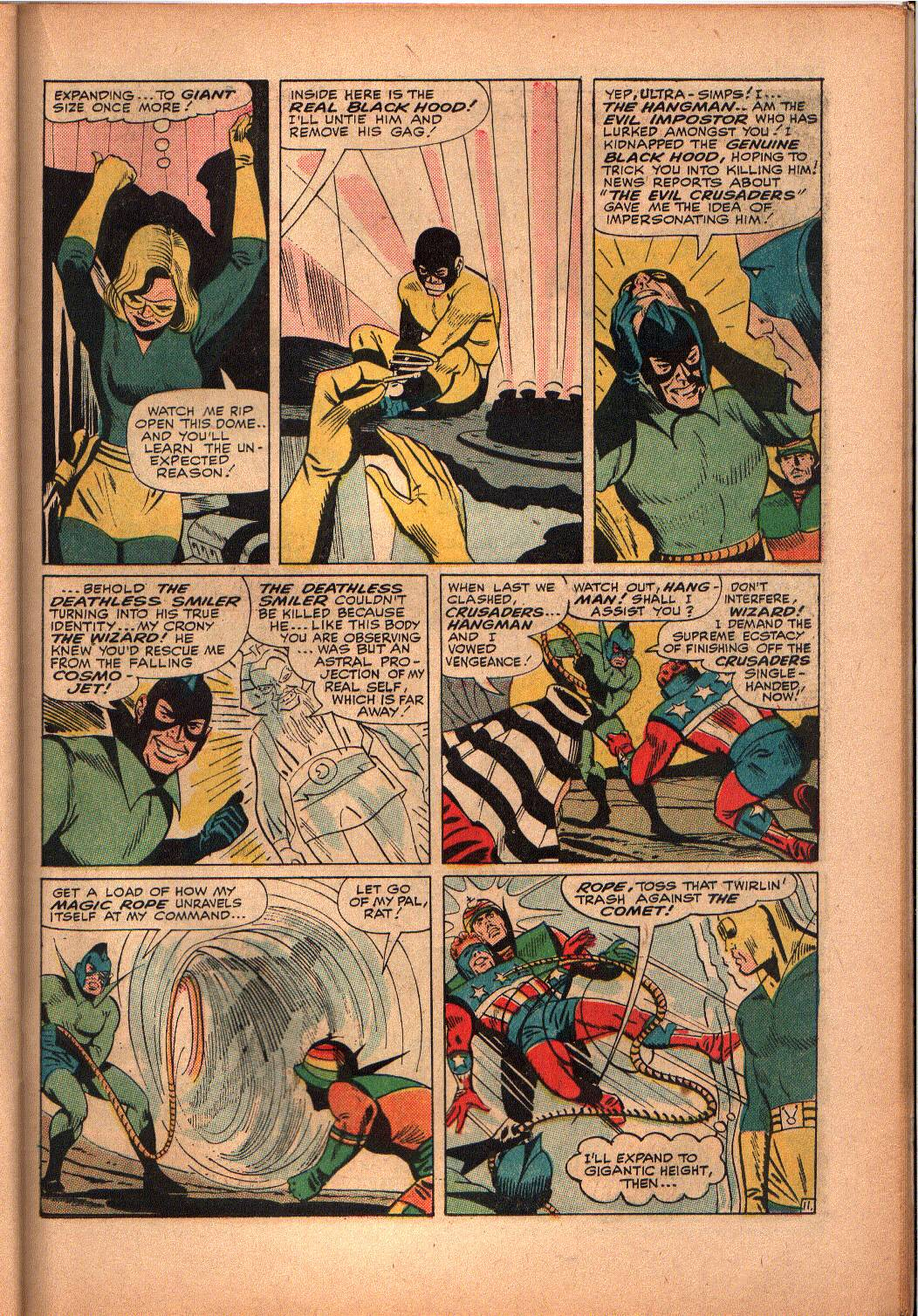 The Mighty Crusaders (1965) Issue #3 #3 - English 20