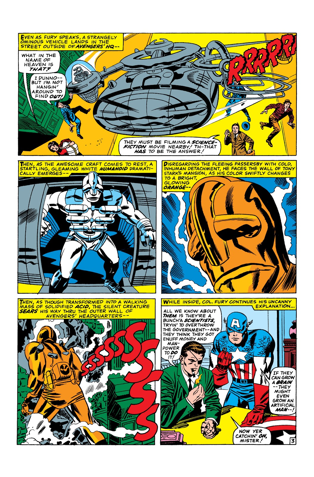 Read online Marvel Masterworks: The Invincible Iron Man comic -  Issue # TPB 3 (Part 3) - 94