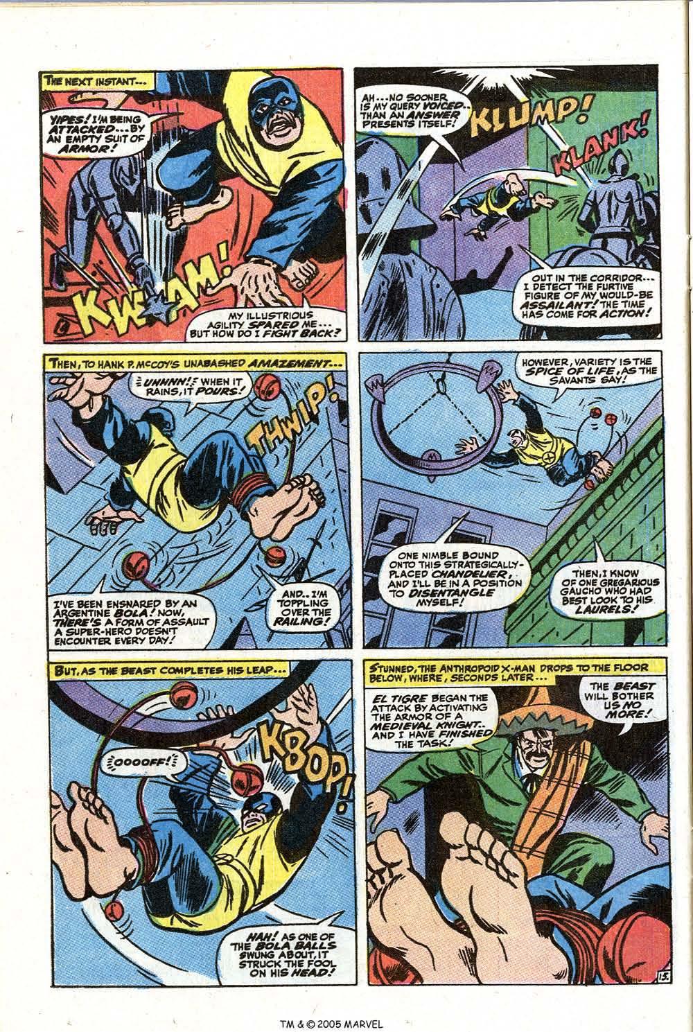 Read online Uncanny X-Men (1963) comic -  Issue #73 - 24