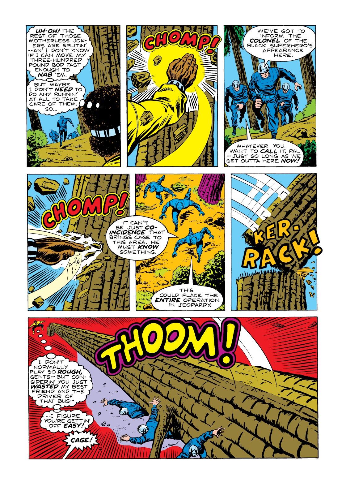 Read online Marvel Masterworks: Luke Cage, Power Man comic -  Issue # TPB 2 (Part 2) - 31