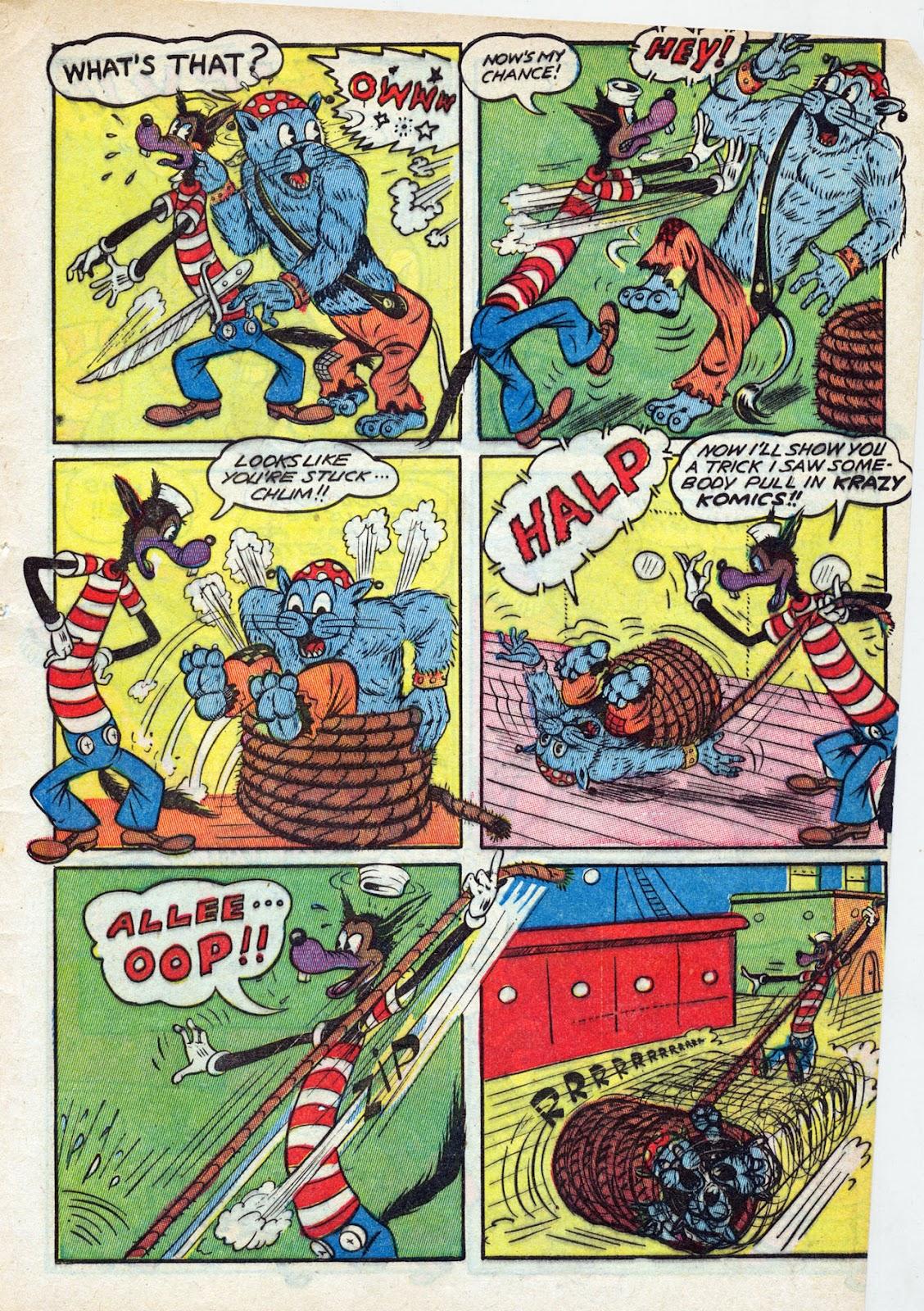 Read online Comedy Comics (1942) comic -  Issue #13 - 56
