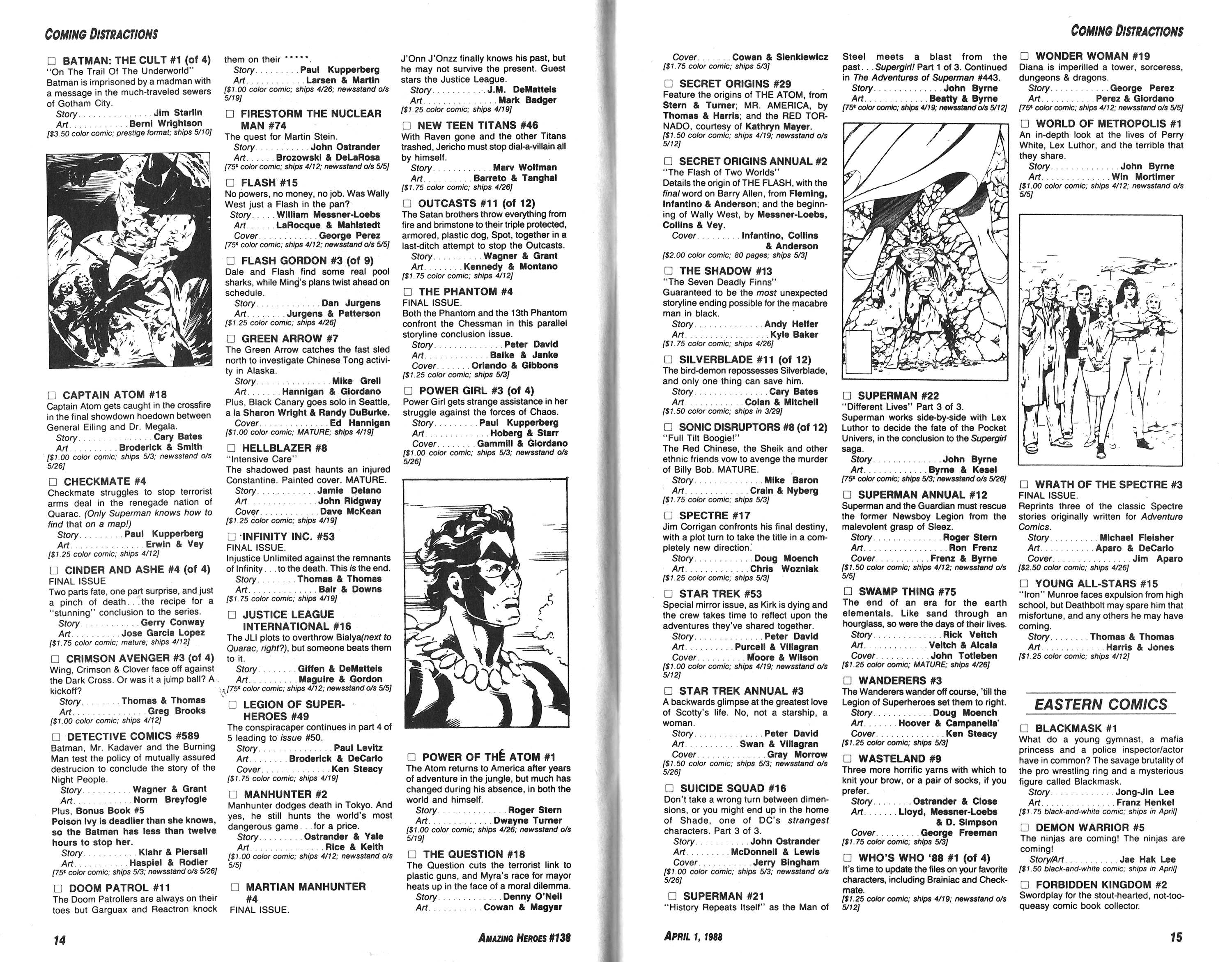 Read online Amazing Heroes comic -  Issue #138 - 8