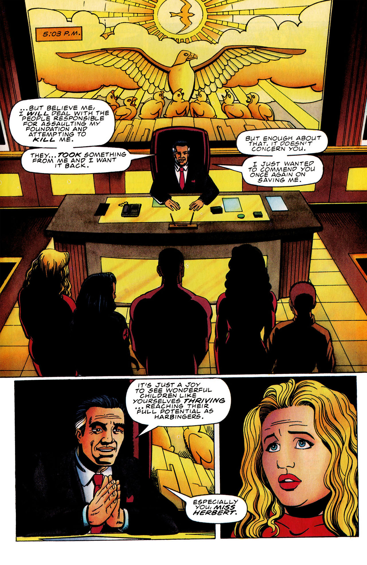 Read online Harbinger (1992) comic -  Issue #31 - 14