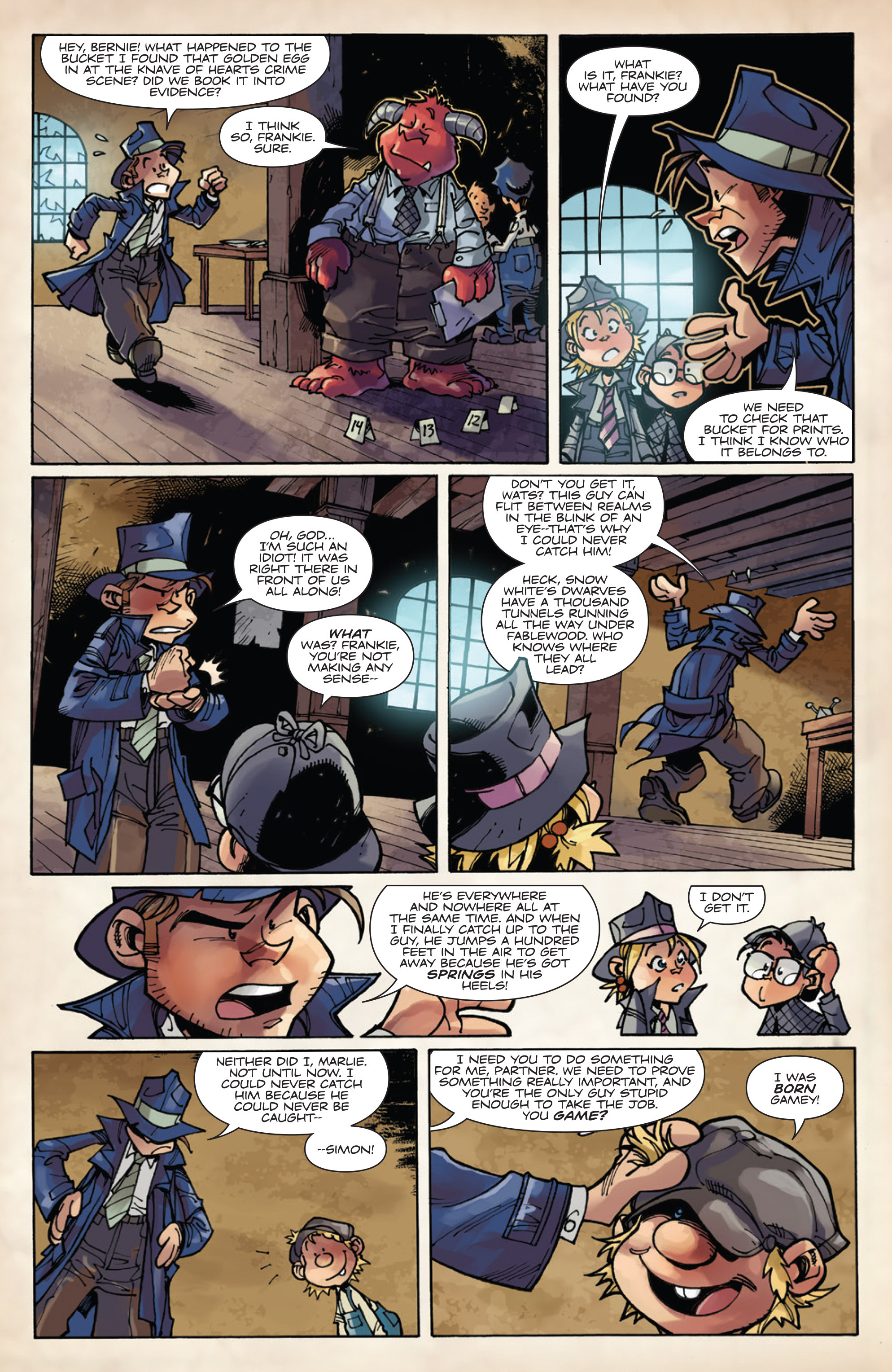 Read online Fiction Squad comic -  Issue #5 - 13