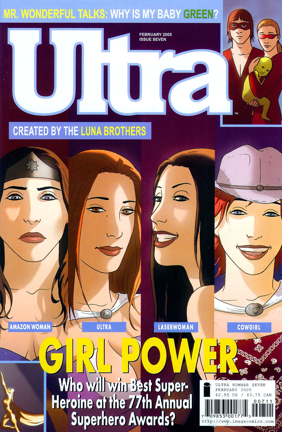 Read online Ultra comic -  Issue #7 - 1