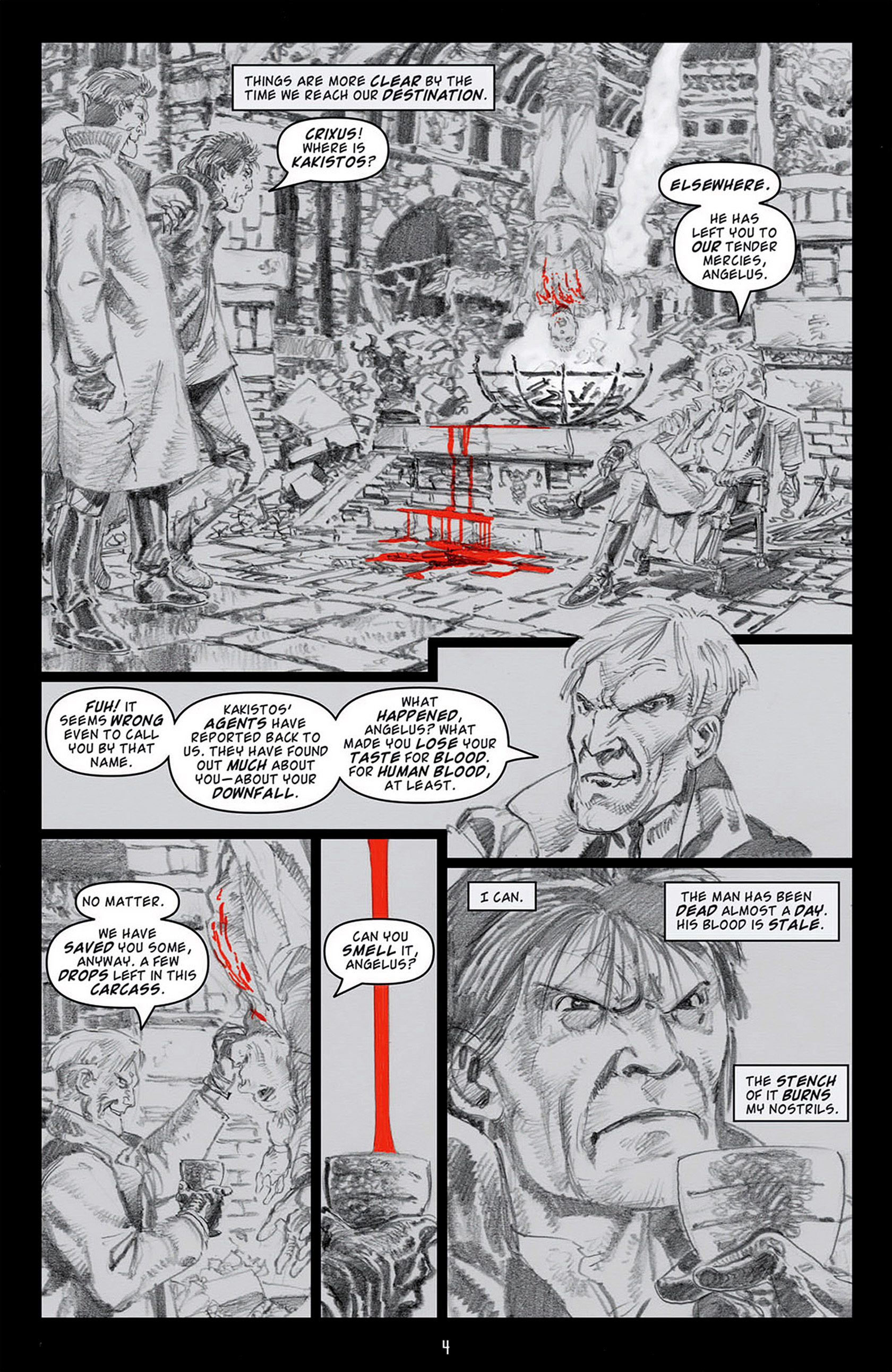 Read online Angel: Blood & Trenches comic -  Issue #4 - 7