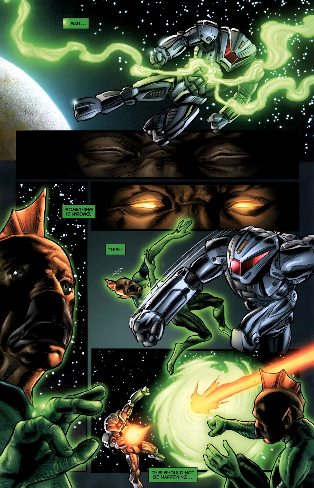 Read online Green Lantern Movie Prequel: Tomar-Re comic -  Issue # Full - 11