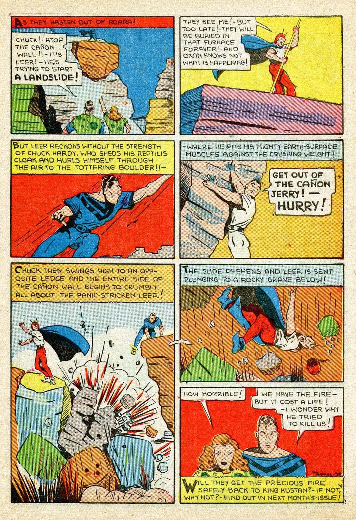 Read online Amazing Man Comics comic -  Issue #8 - 51