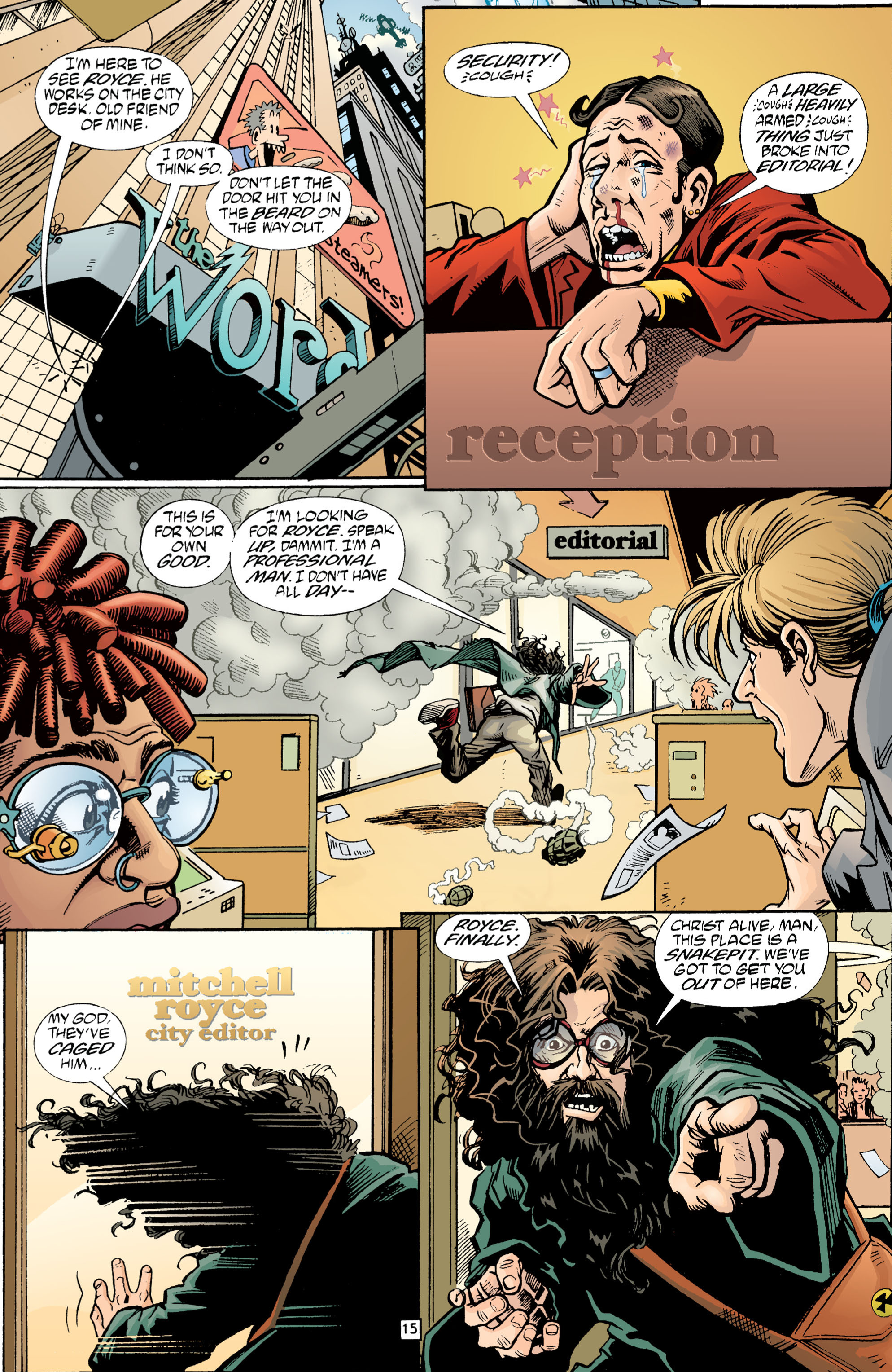 Read online Transmetropolitan comic -  Issue #1 - 16