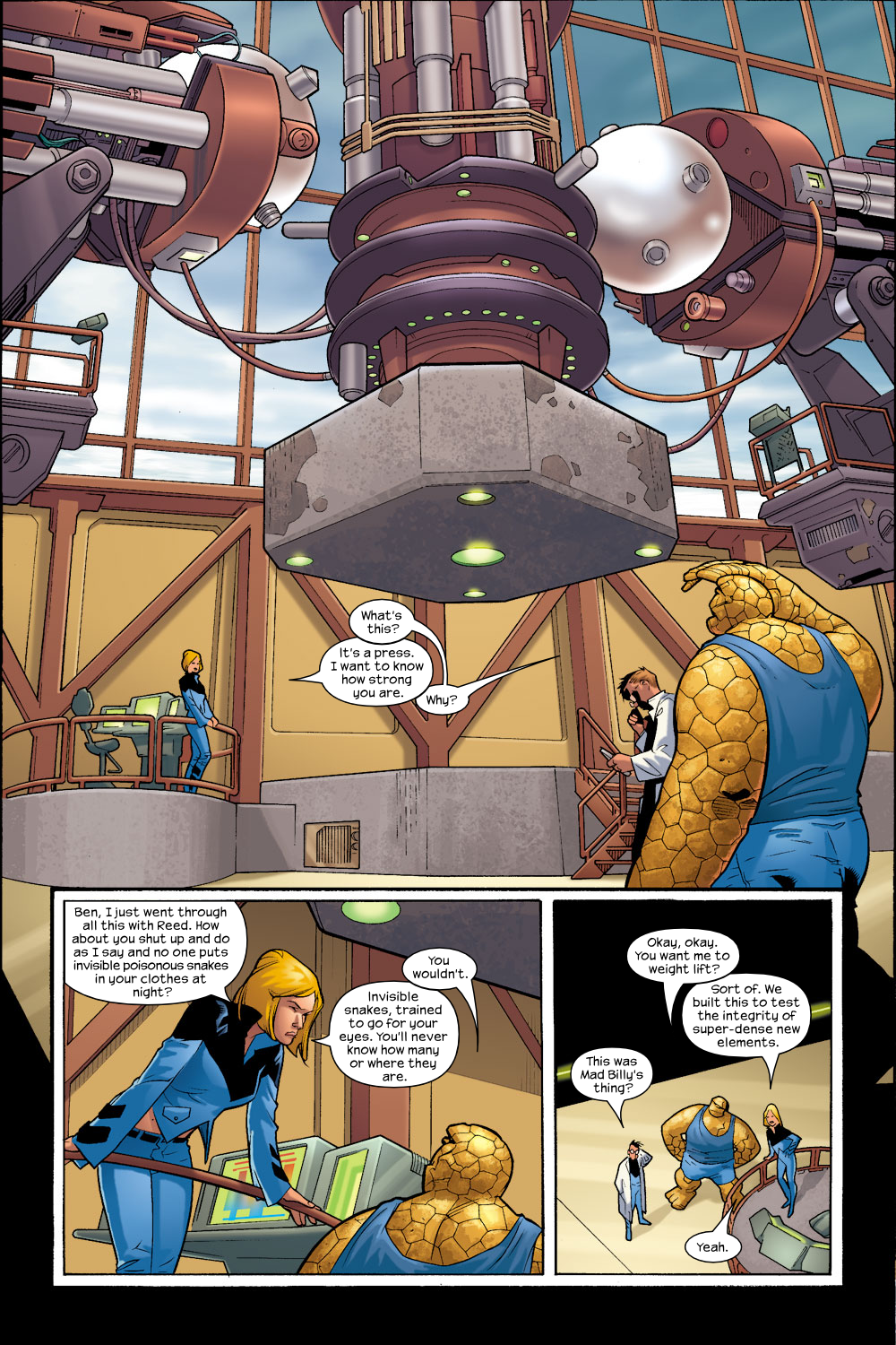 Read online Ultimate Fantastic Four (2004) comic -  Issue #8 - 14