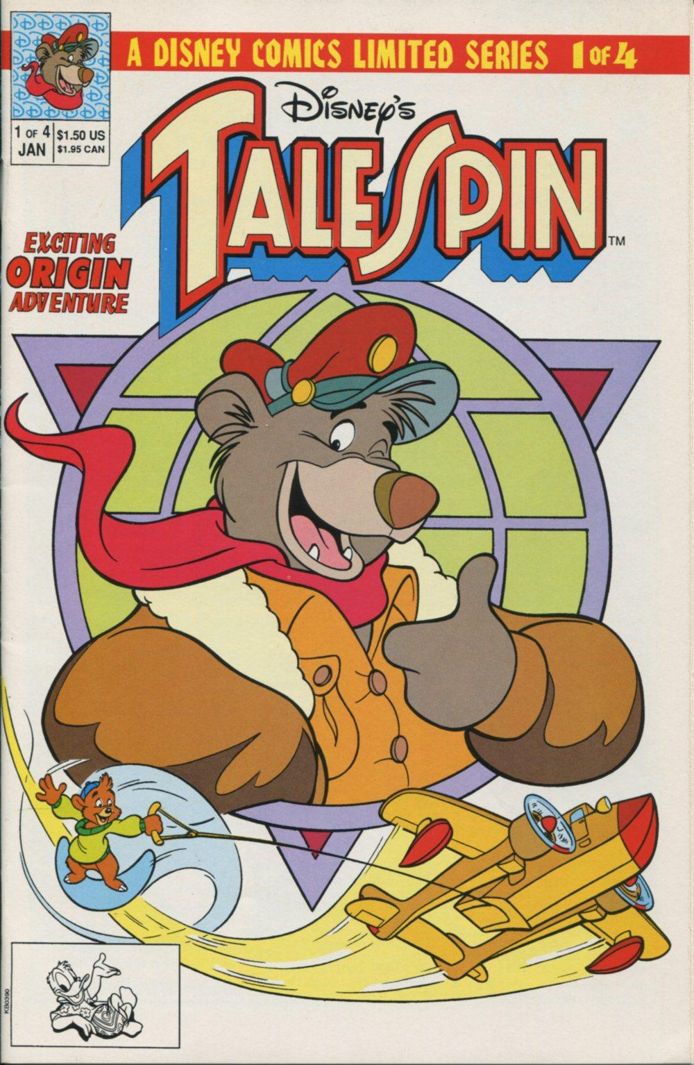 Read online Disney's Tale Spin Limited Series: ''Take Off'' comic -  Issue #1 - 1