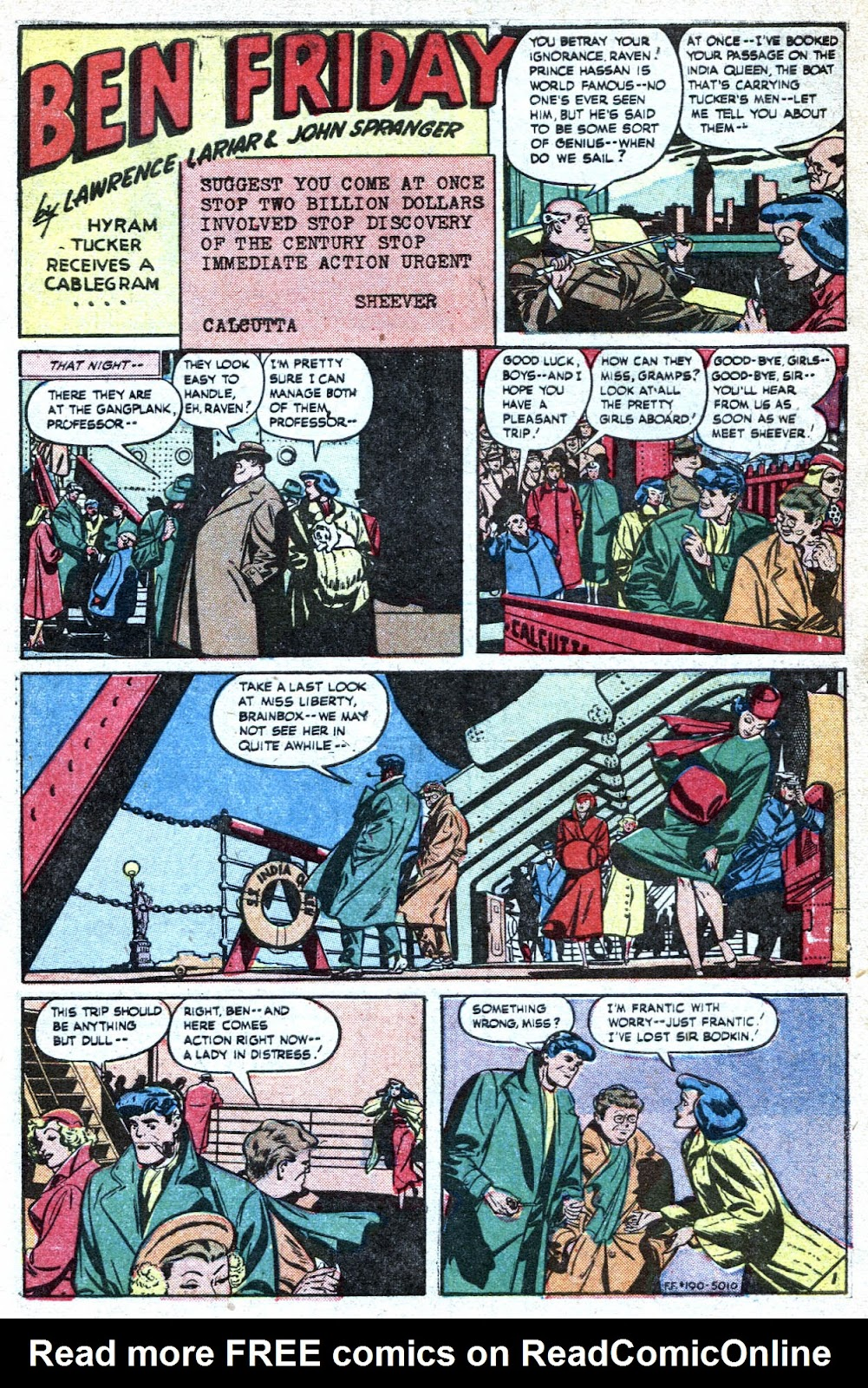 Read online Famous Funnies comic -  Issue #190 - 3