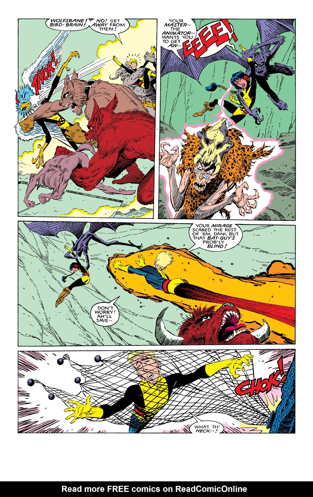 Read online X-Men Milestones: Fall of the Mutants comic -  Issue # TPB (Part 2) - 9