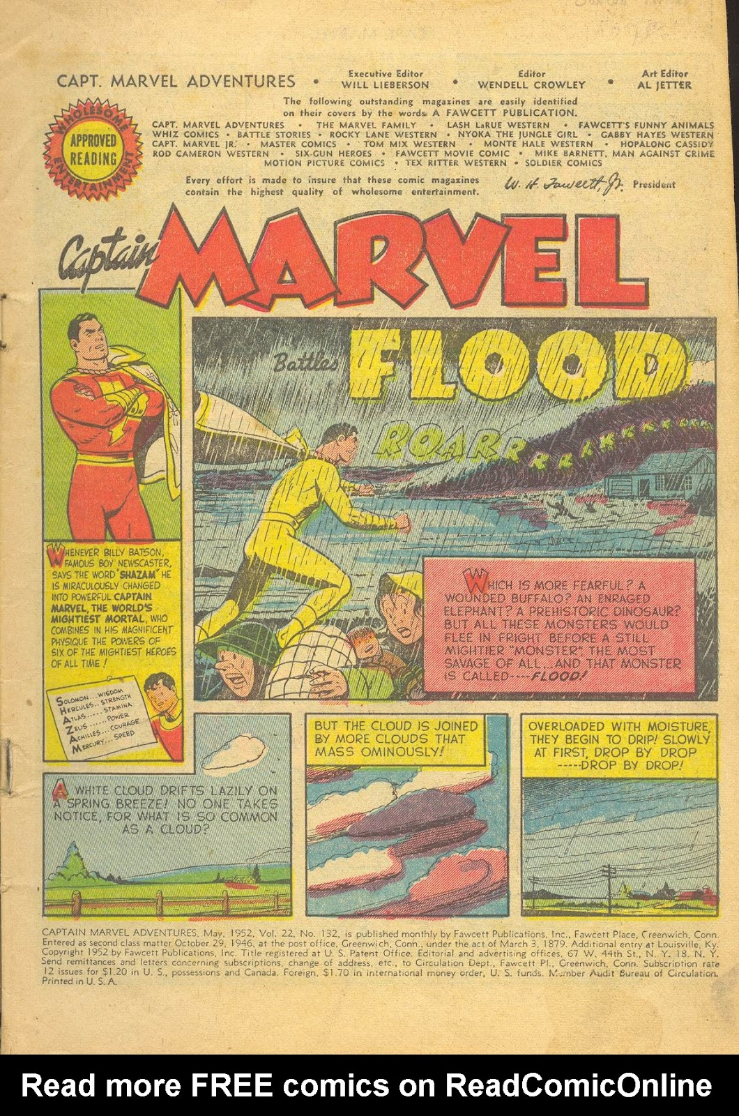 Captain Marvel Adventures issue 132 - Page 3