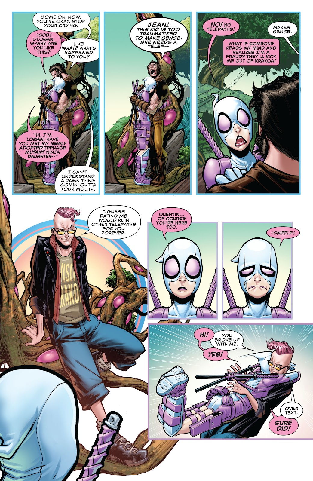 Gwenpool Strikes Back issue _TPB - Page 106