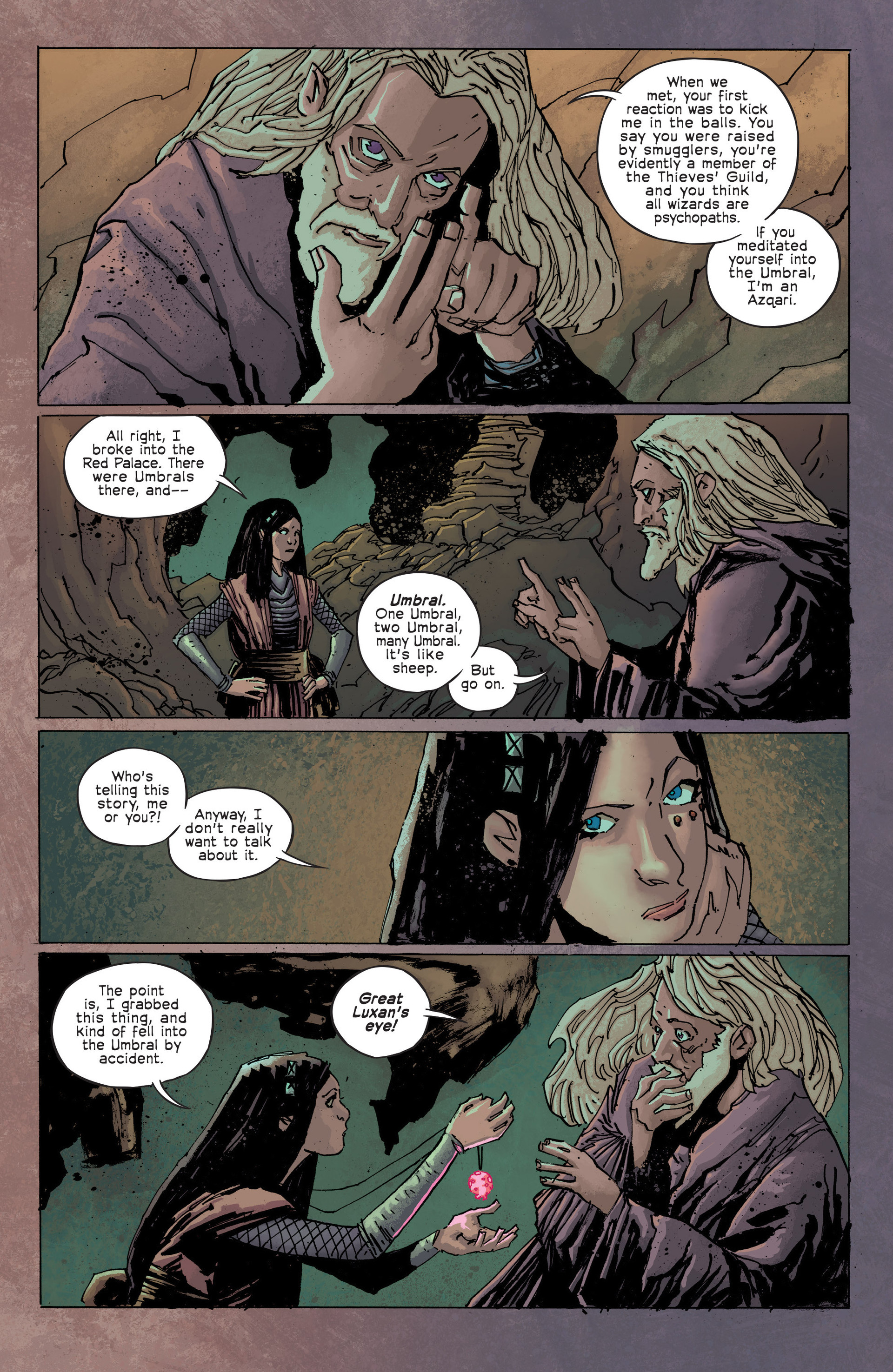 Read online Umbral comic -  Issue #3 - 15