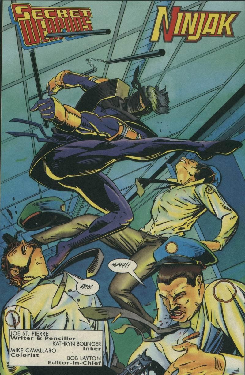 Read online Secret Weapons comic -  Issue #5 - 4