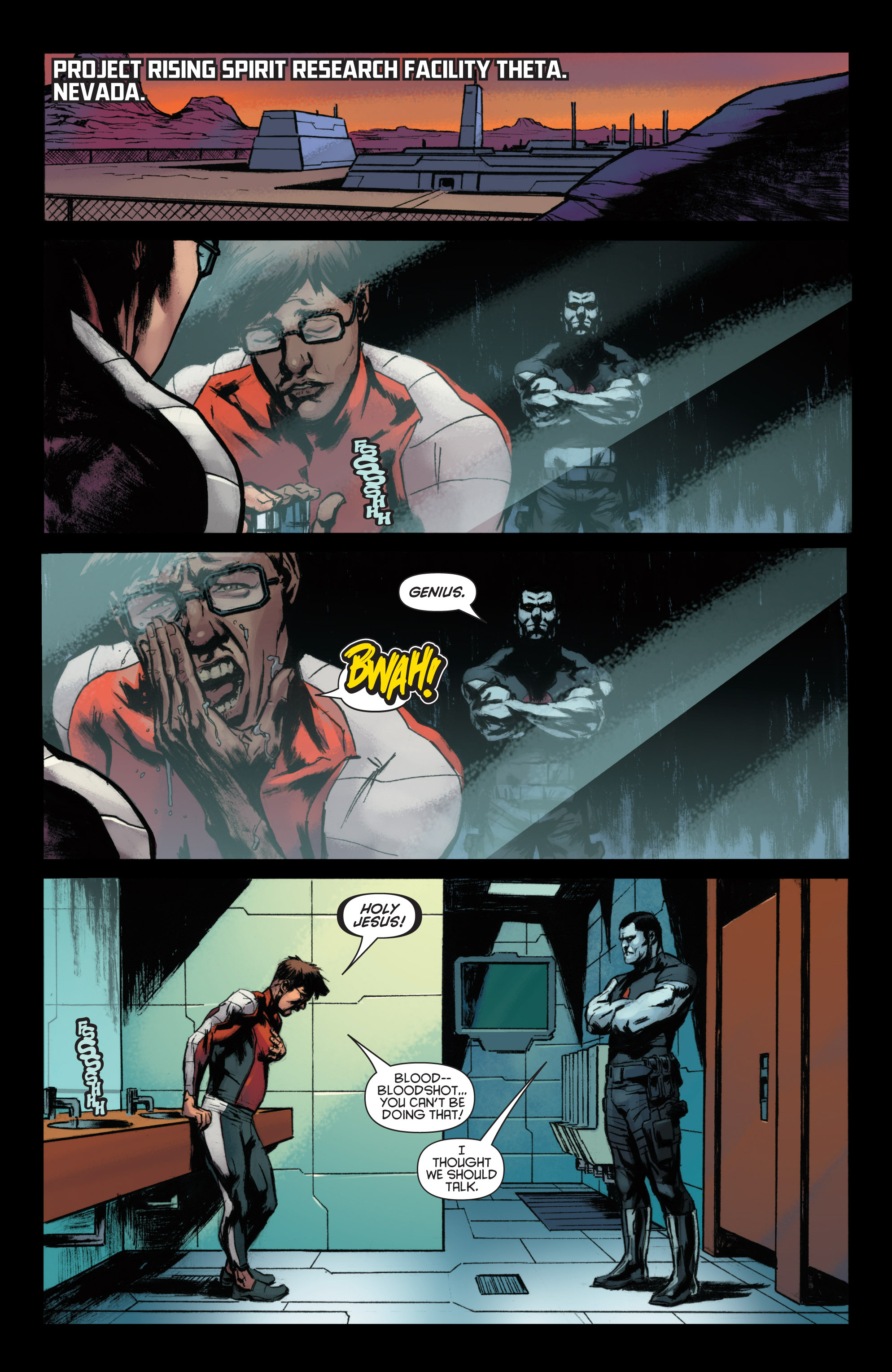 Read online Bloodshot and H.A.R.D.Corps comic -  Issue #22 - 3