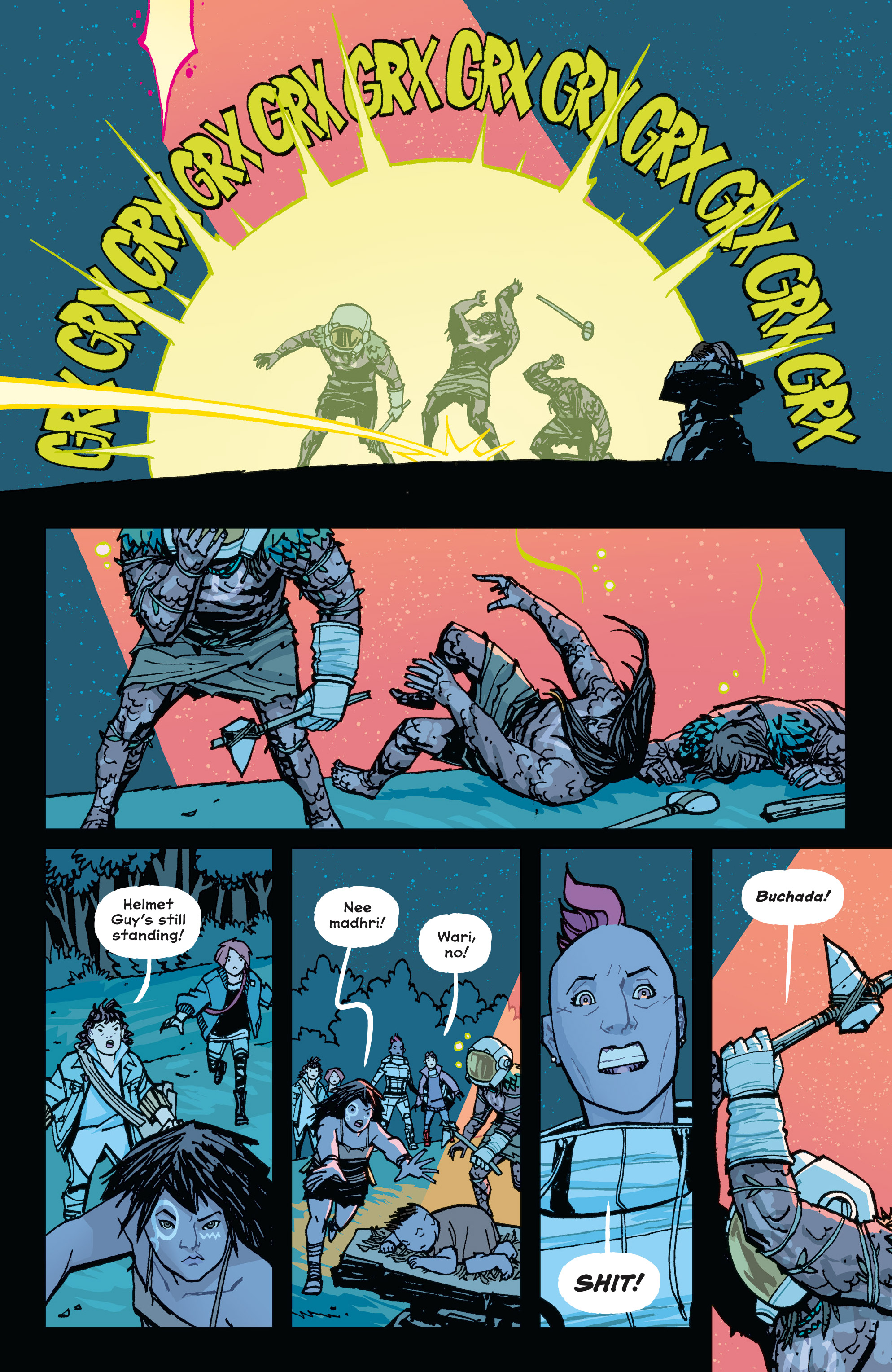 Read online Paper Girls comic -  Issue #15 - 18