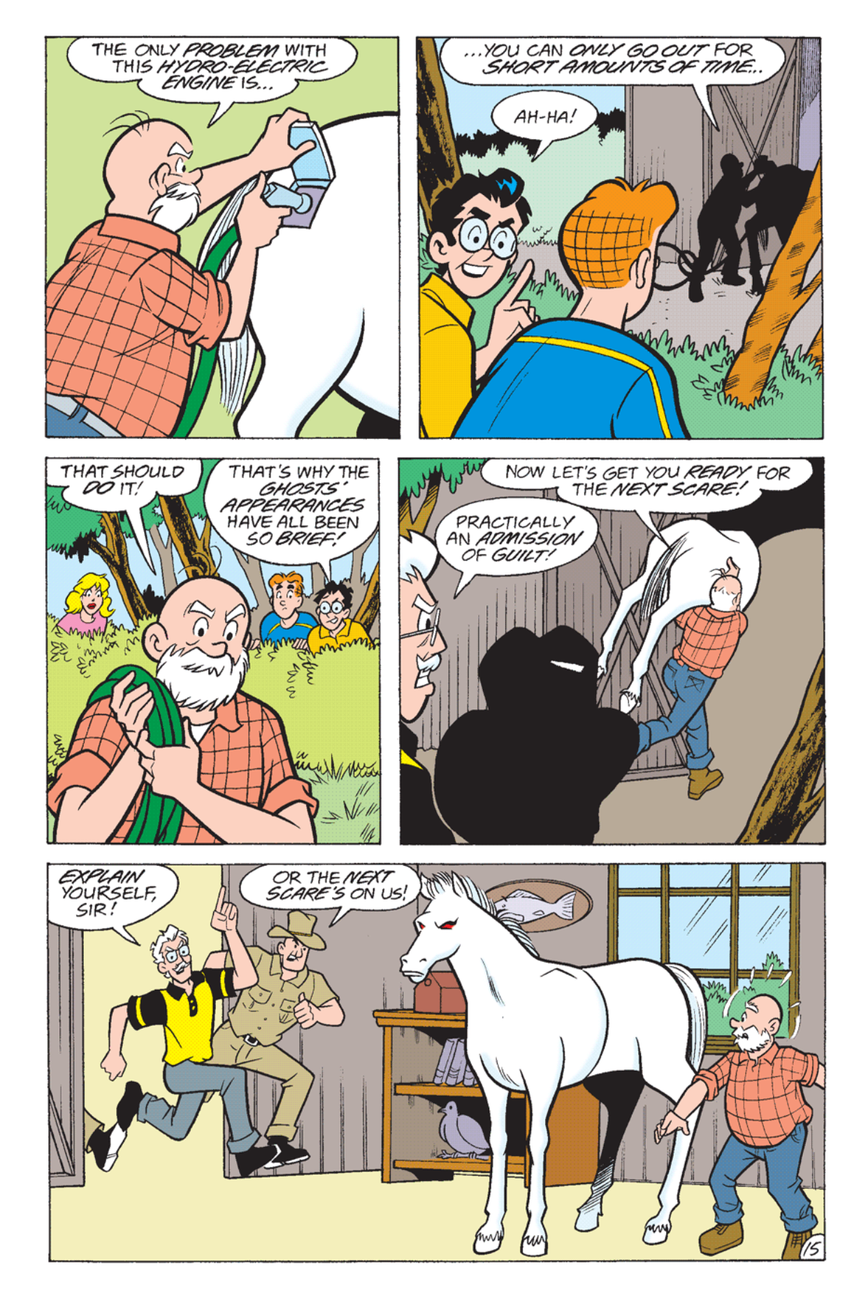Read online Archie's Weird Mysteries comic -  Issue #23 - 17