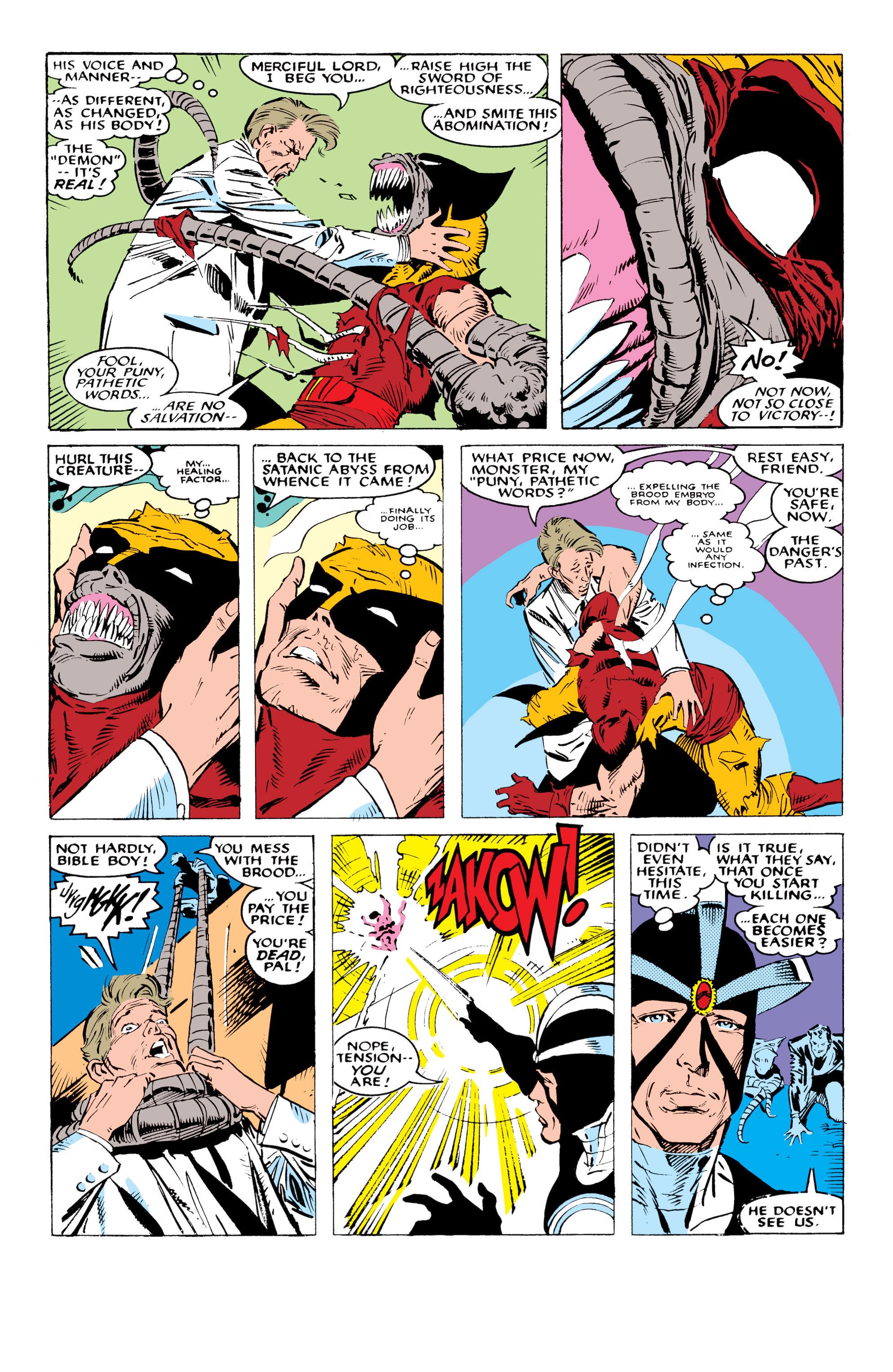 Read online Uncanny X-Men (1963) comic -  Issue #234 - 19
